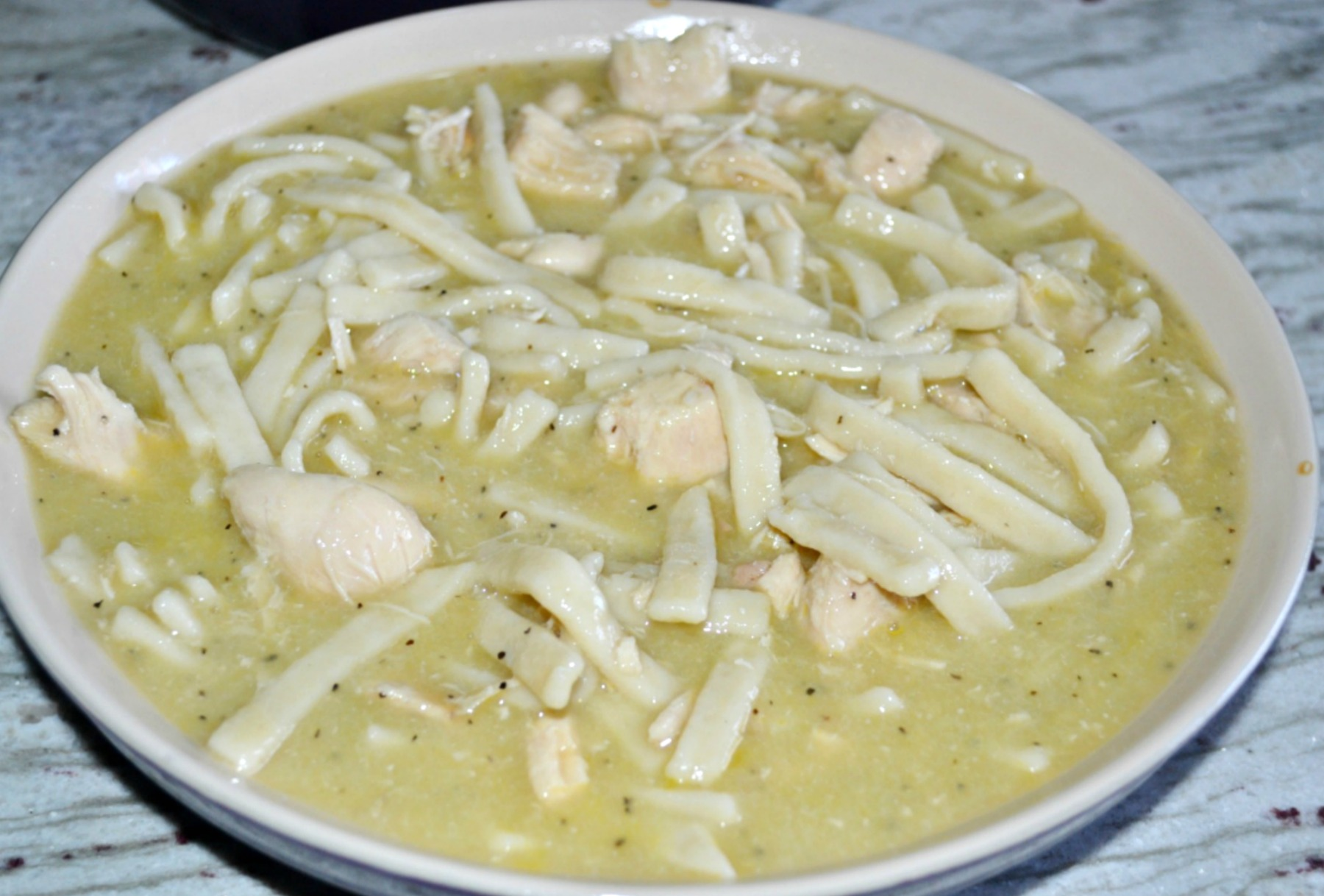 homestyle noodles, chicken and noodles, reames, chicken soup, chicken broth