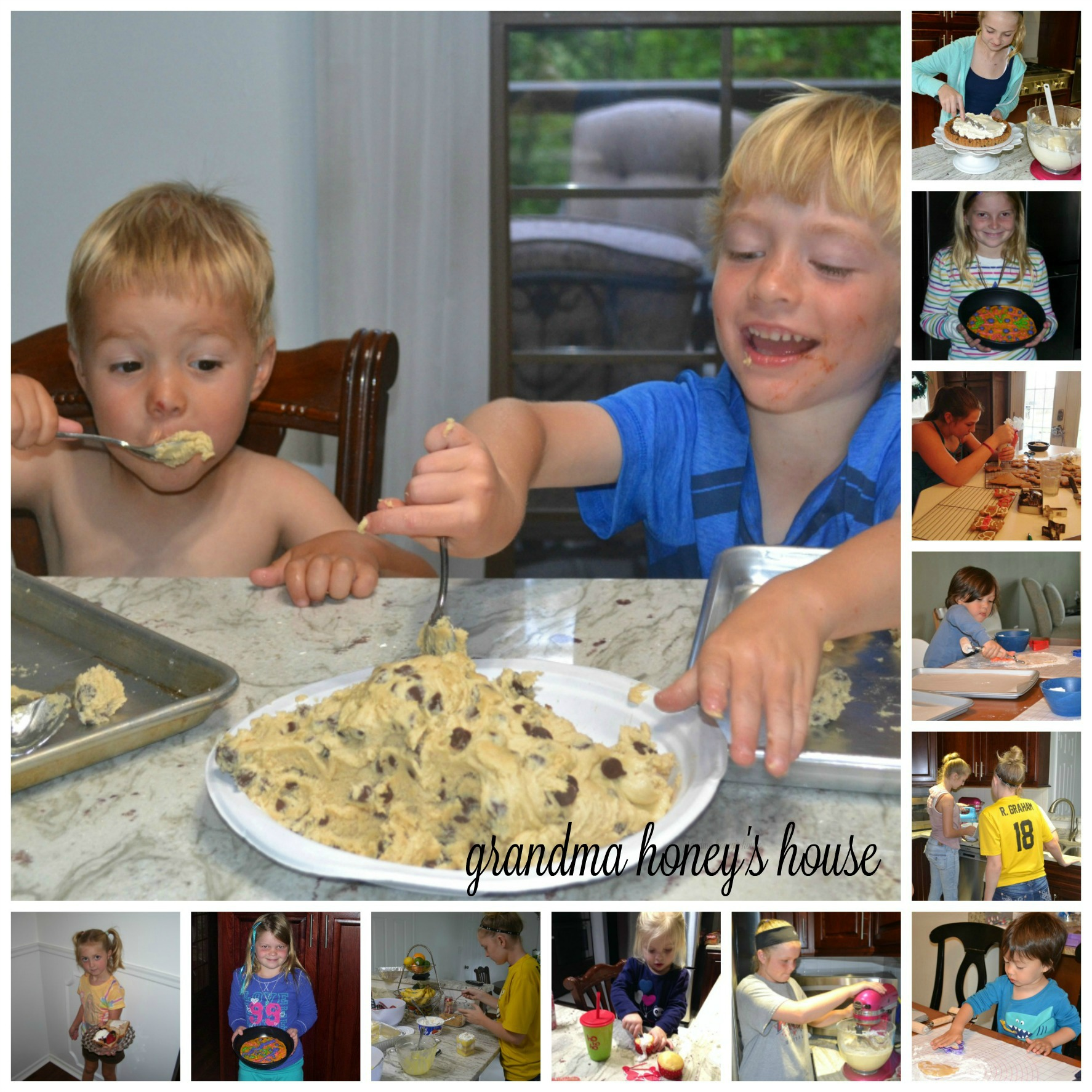 Cooking with the Grandchildren