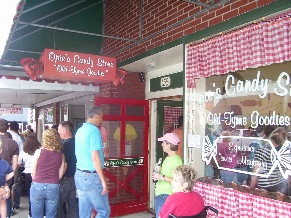 mayberry opie candy store