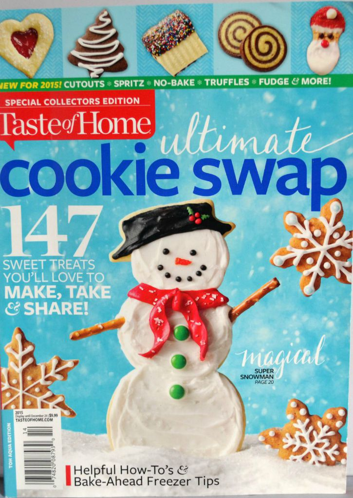 taste of home magazine, cookie swap