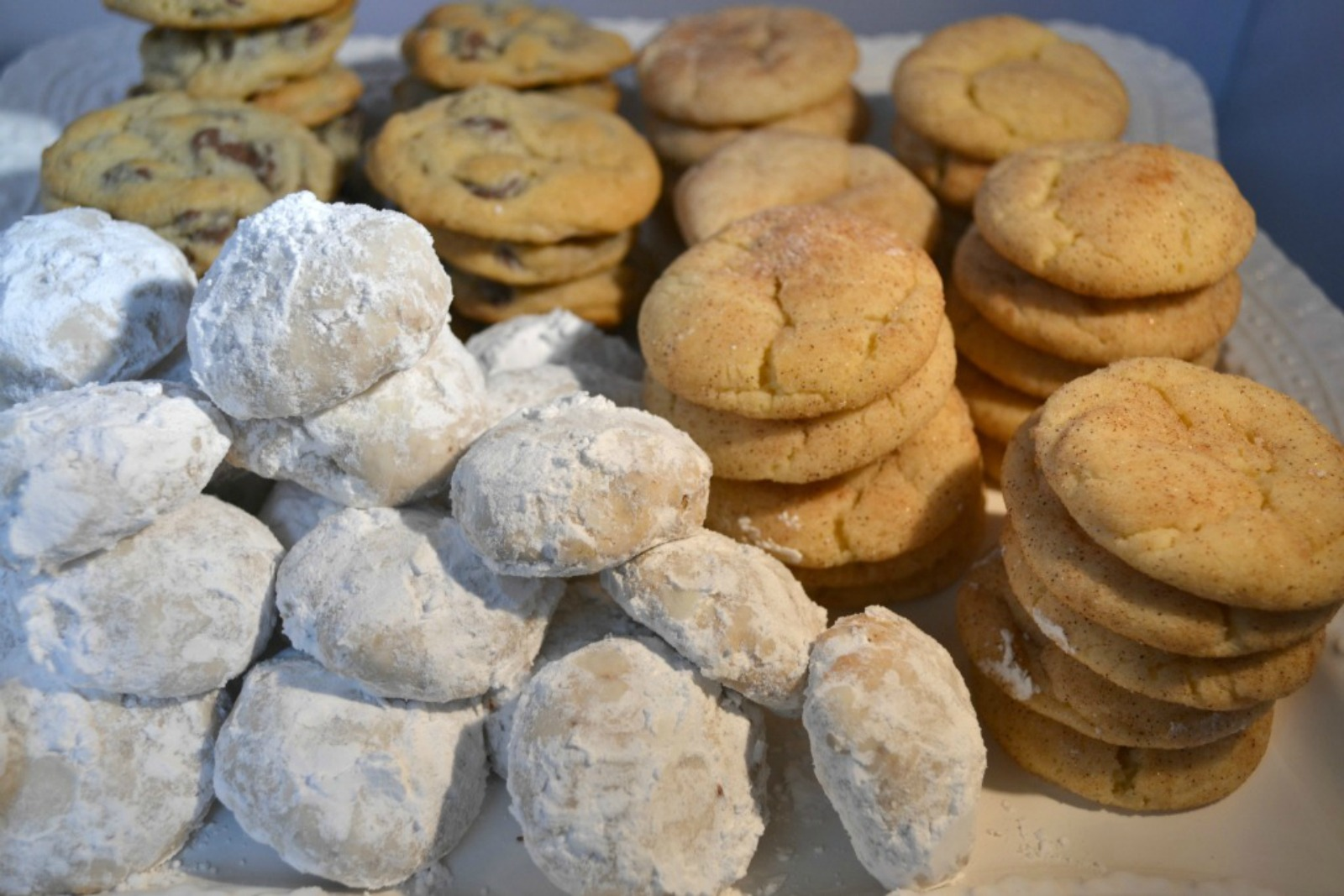homemade cookies, cookie organization tips