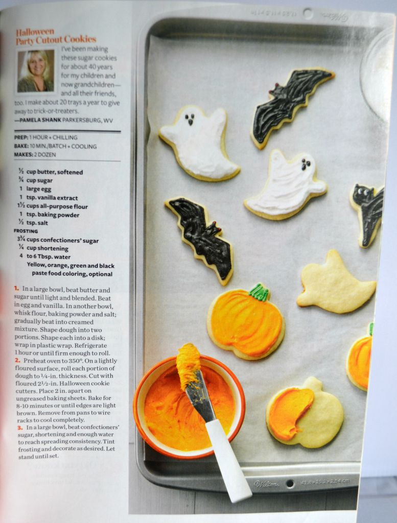 taste of home magazine, published cookie recipes,