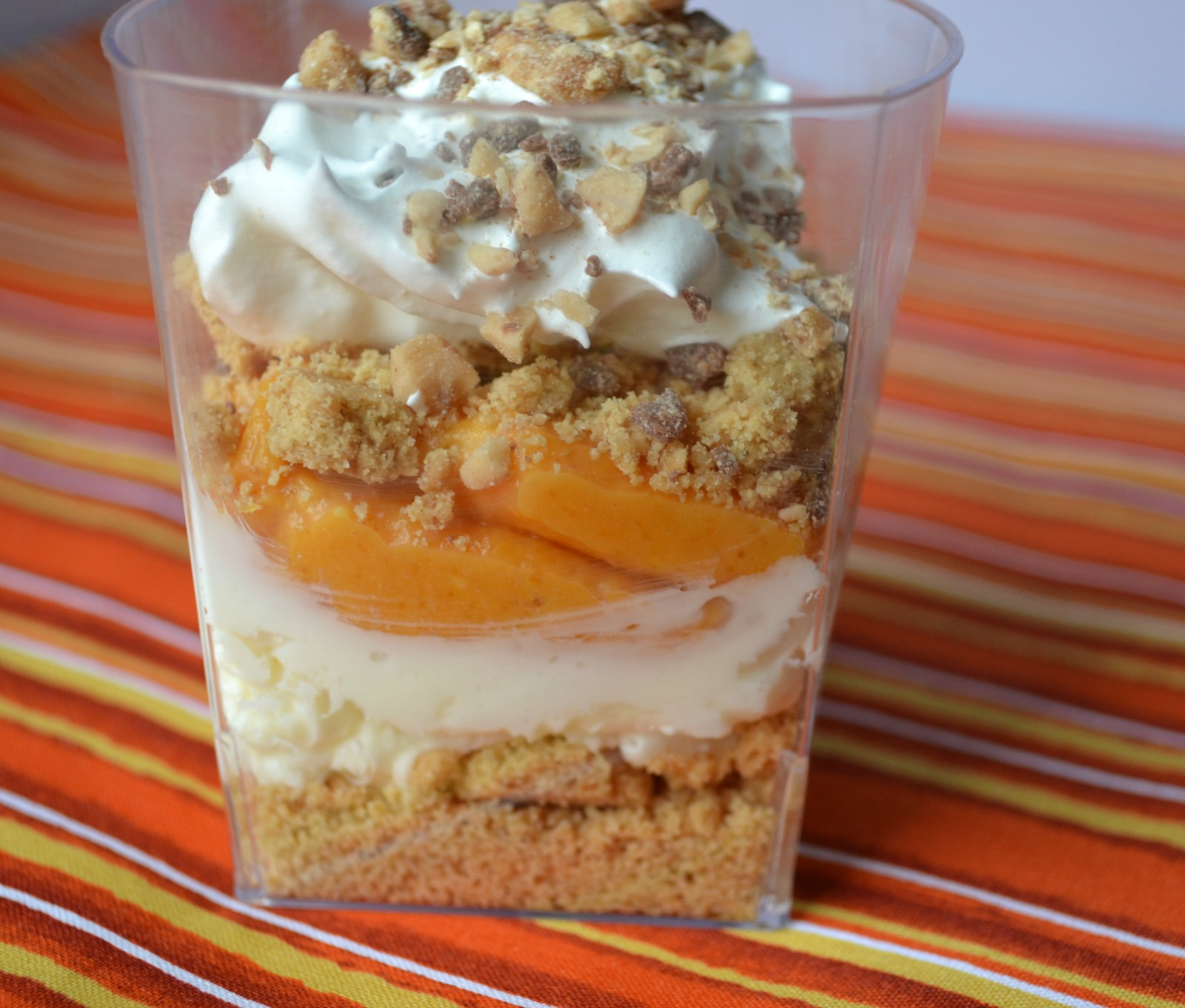 pumpkin parfait, thanksgiving desserts