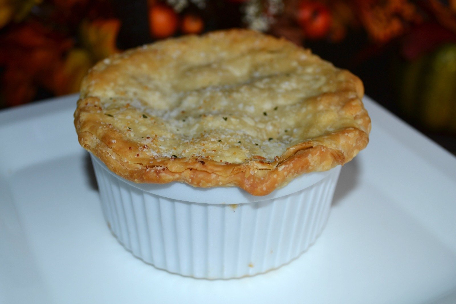 CHICKEN POT PIE, ROTISSERE CHICKEN