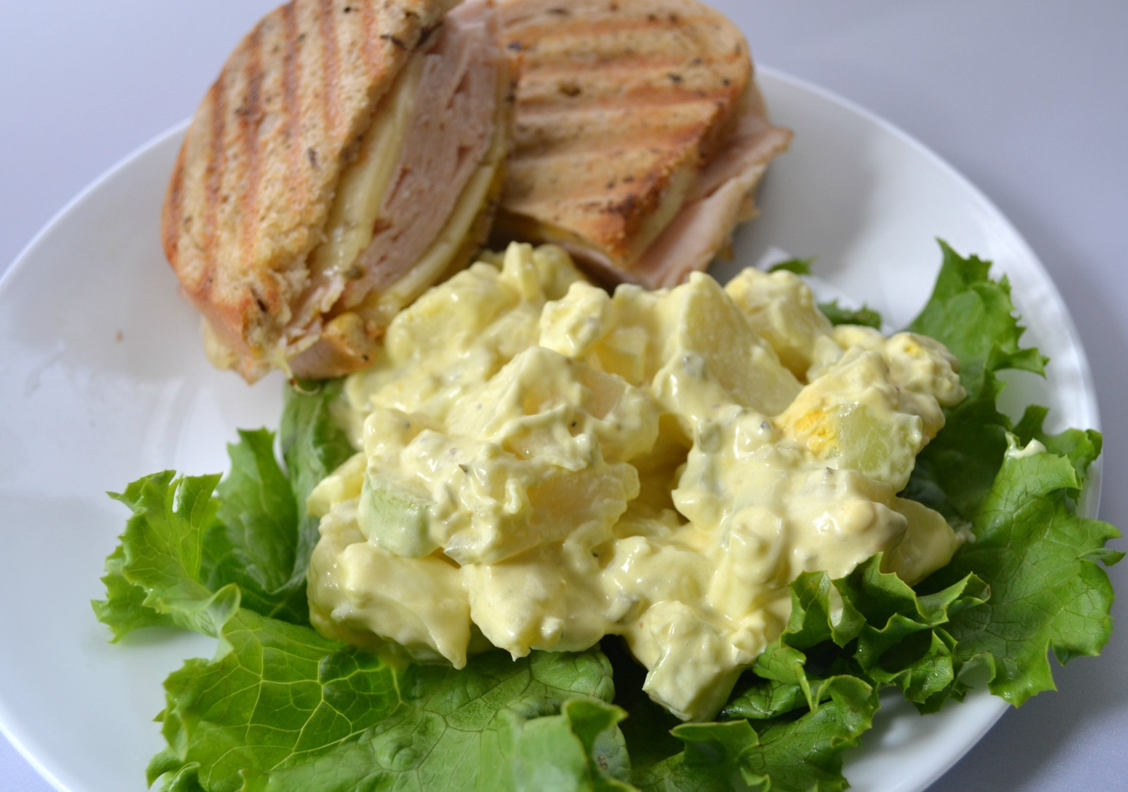 potato salad, thanksgiving sides, downsized cooking for 2