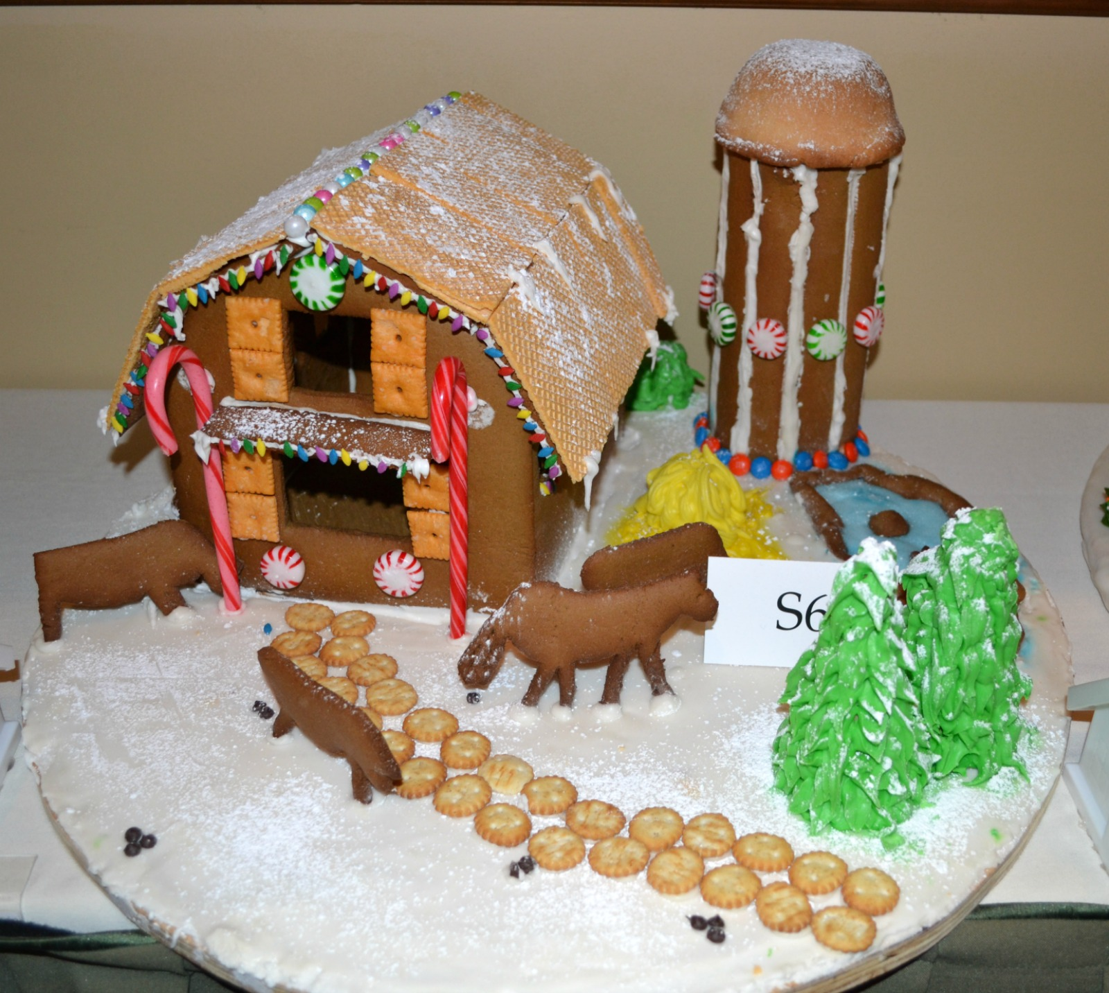 gingerbread houses, christmas