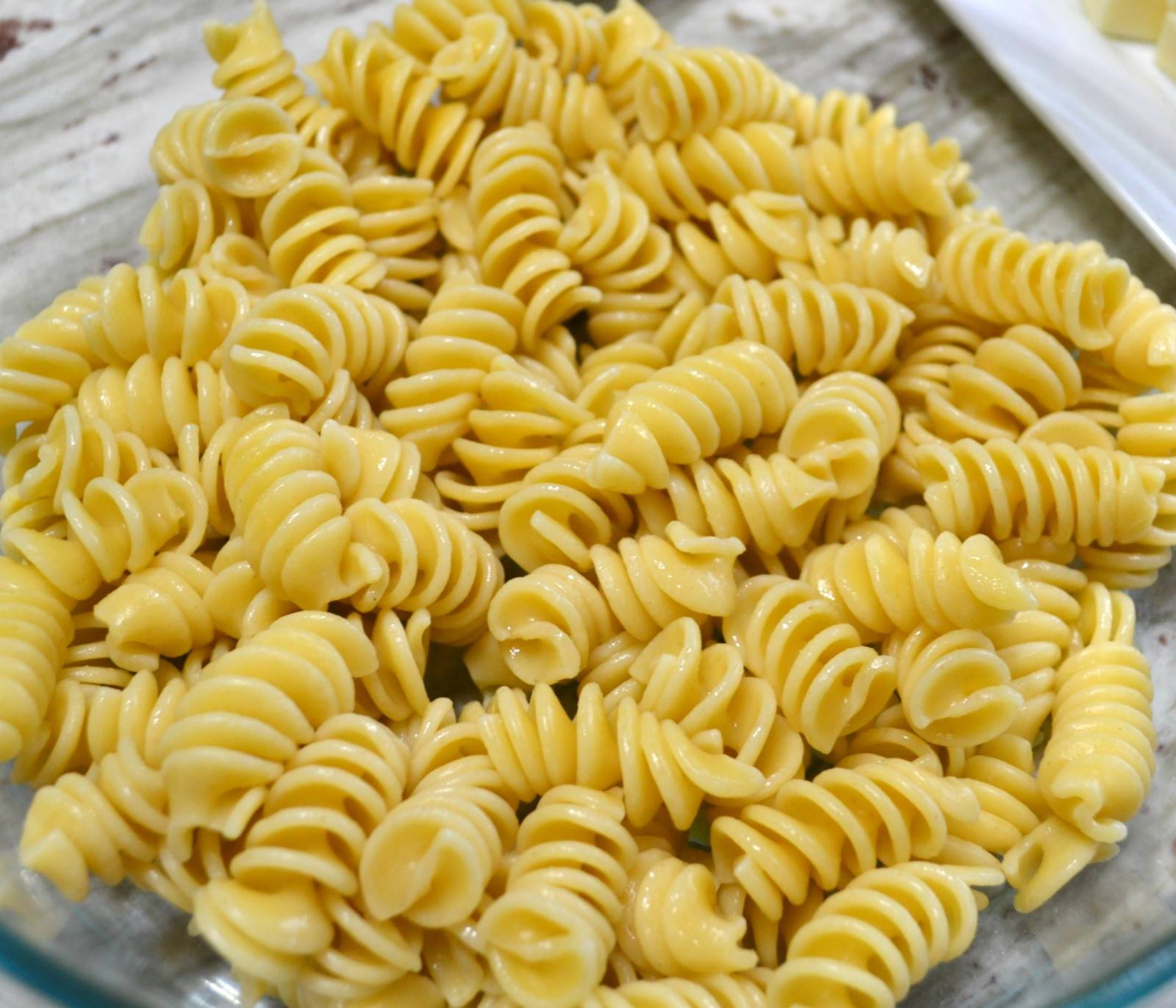 pasta salad, cooking for 2, downsized cooking