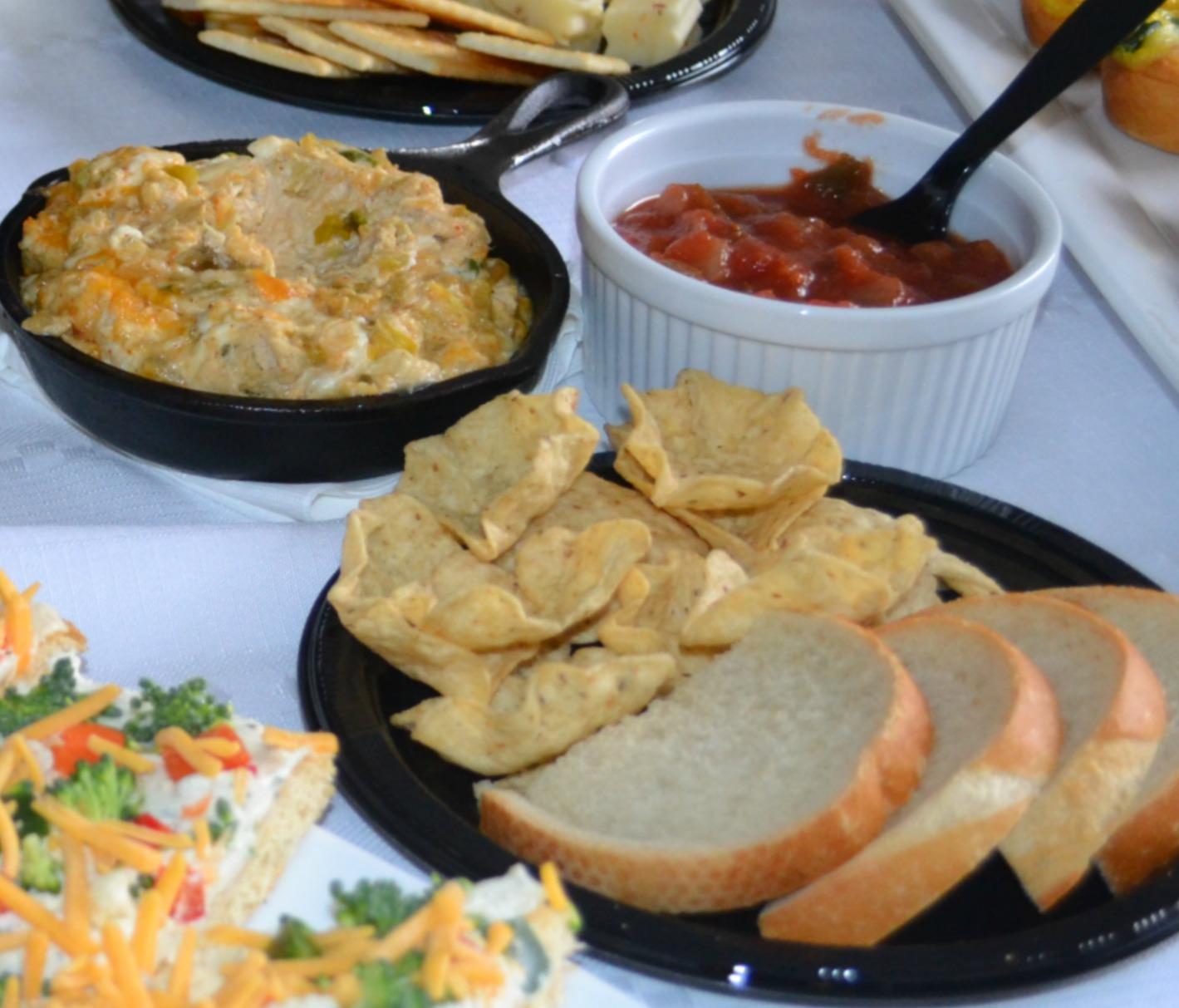 game day snacks, chicken enchilada dip, football foods