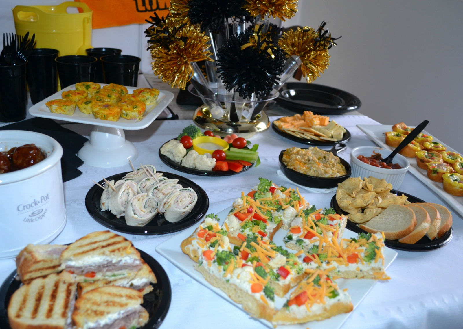 game day foods, appetizers, party foods