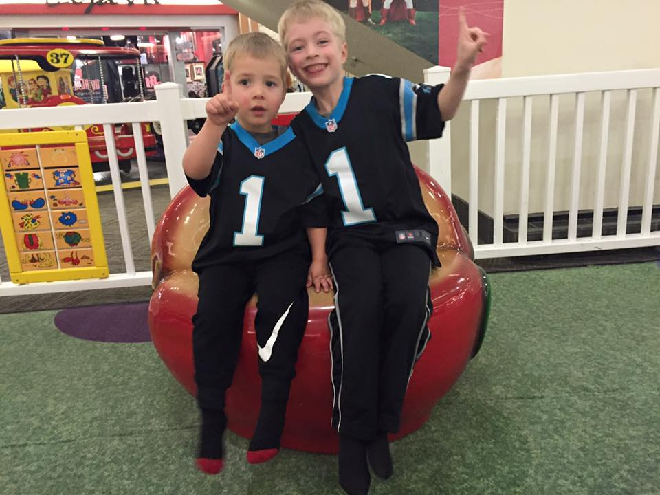 grandsons, north carolina, superbowl 50
