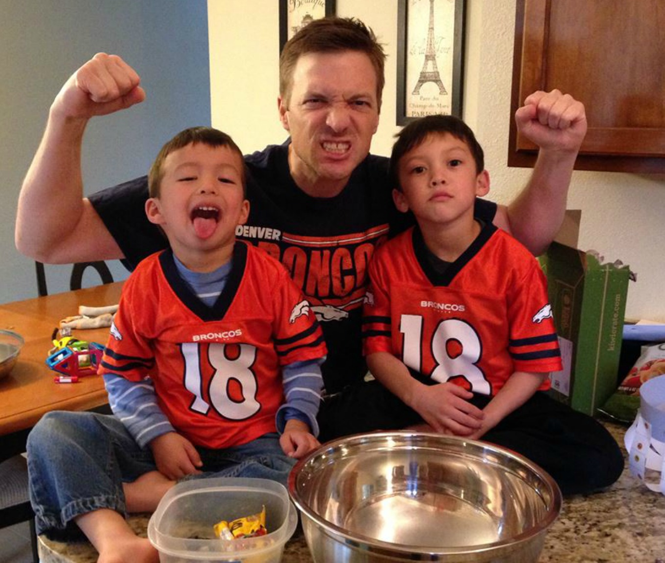 superbowl, denver, grandsons