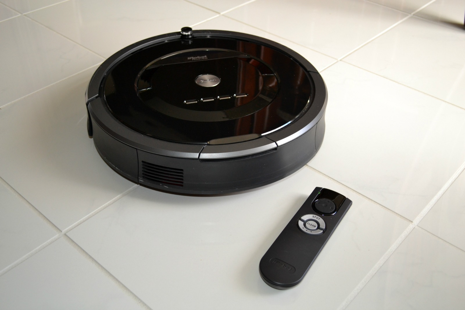 roomba, irobot, sweeper, remote