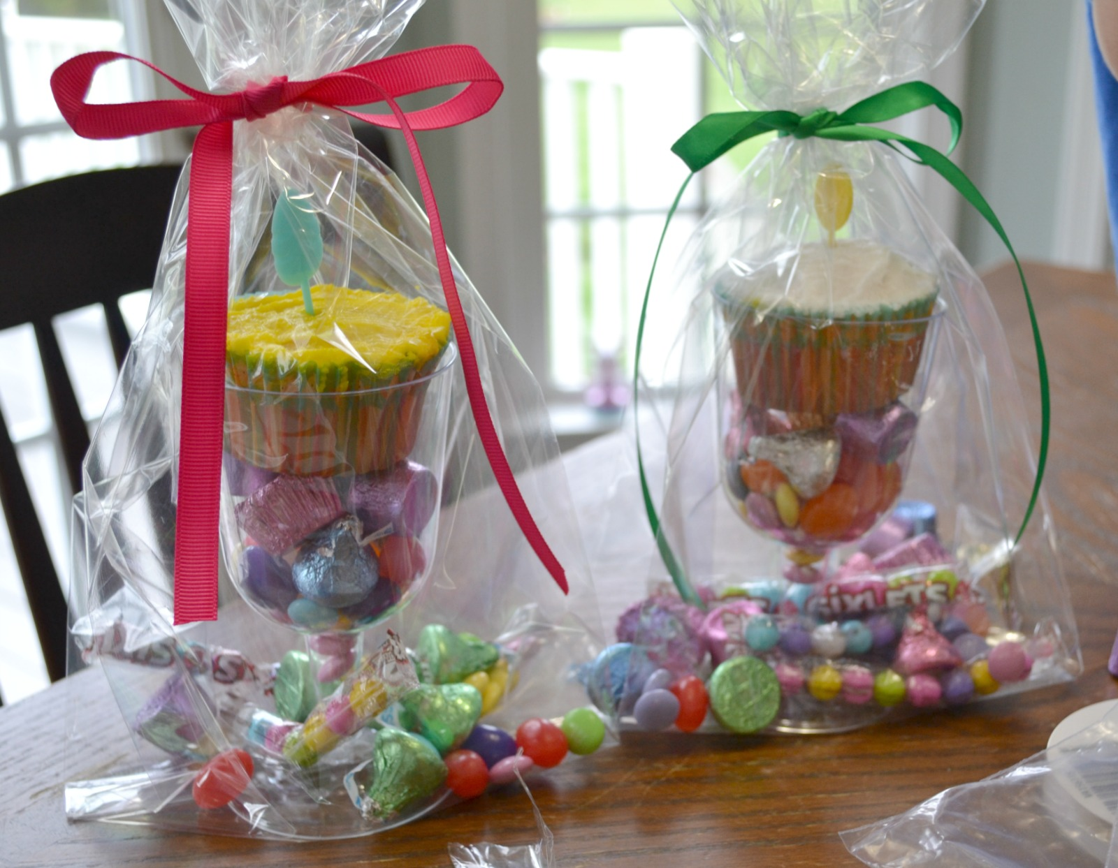 easter treats, candy bags