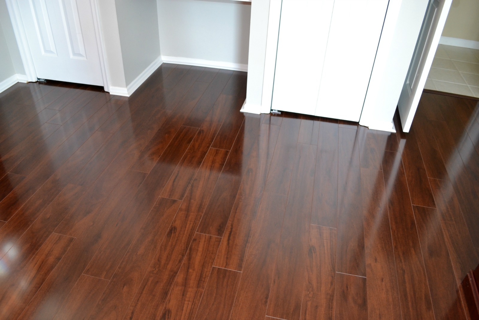 laminate, spring project, office remodel