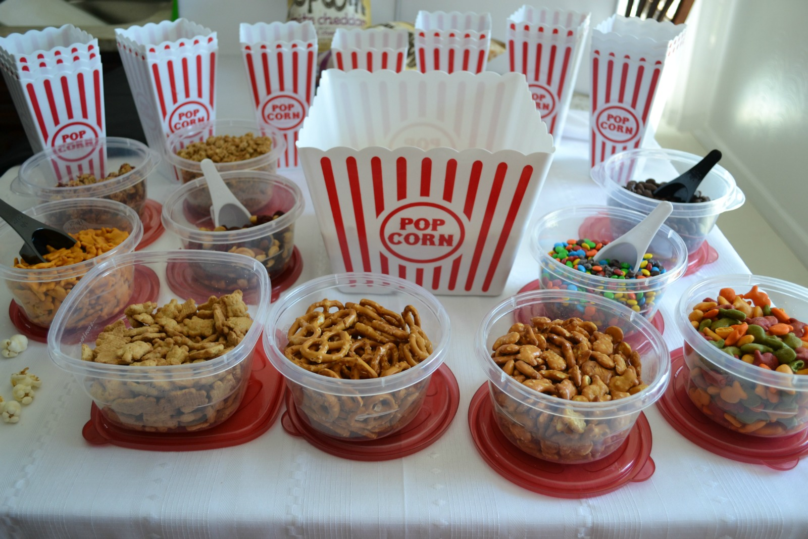 POPCORN BAR. Tips On A Healthy Snack Workshop For Kids That I Presented At  The WV State PTA