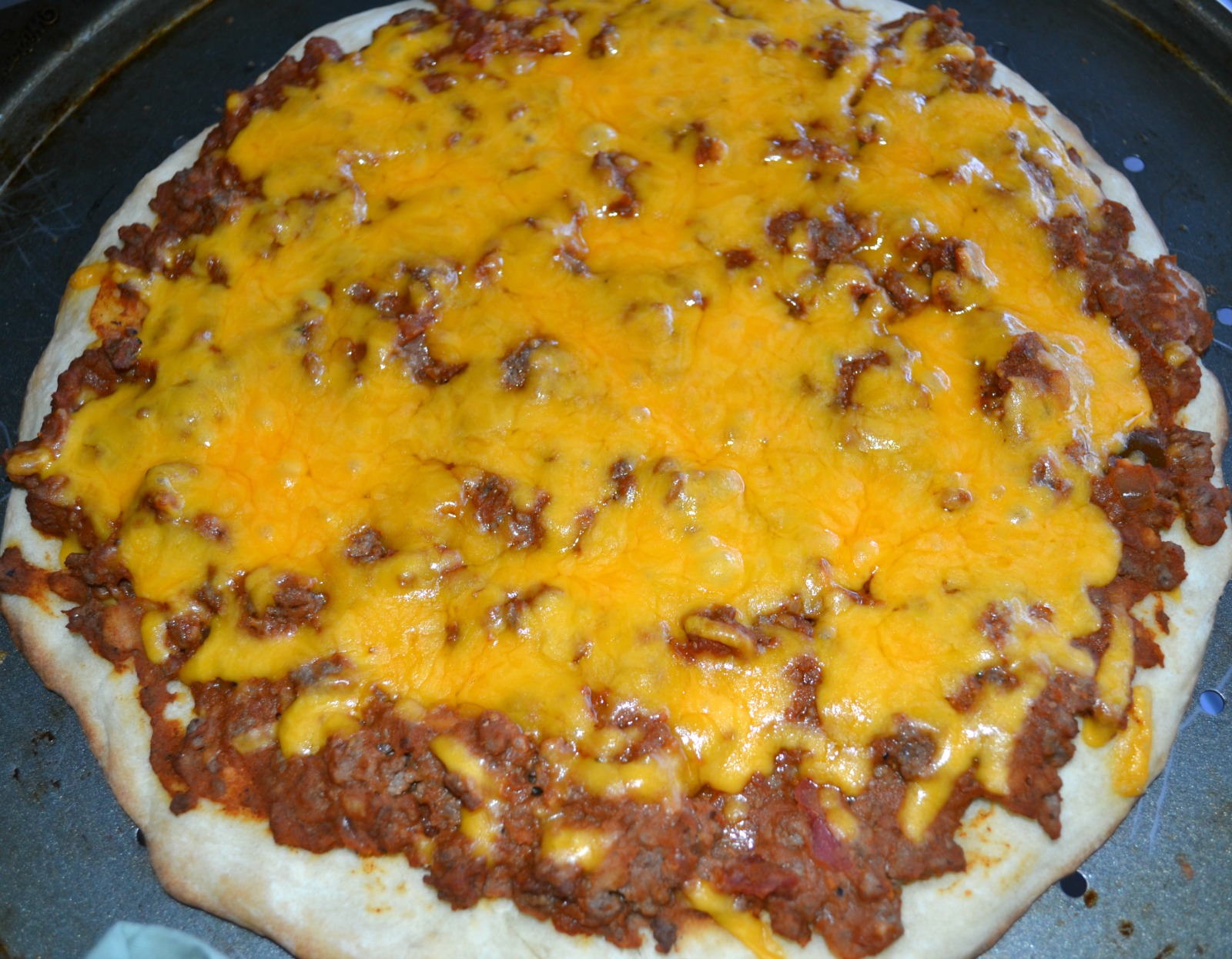 taco pizza, mexican