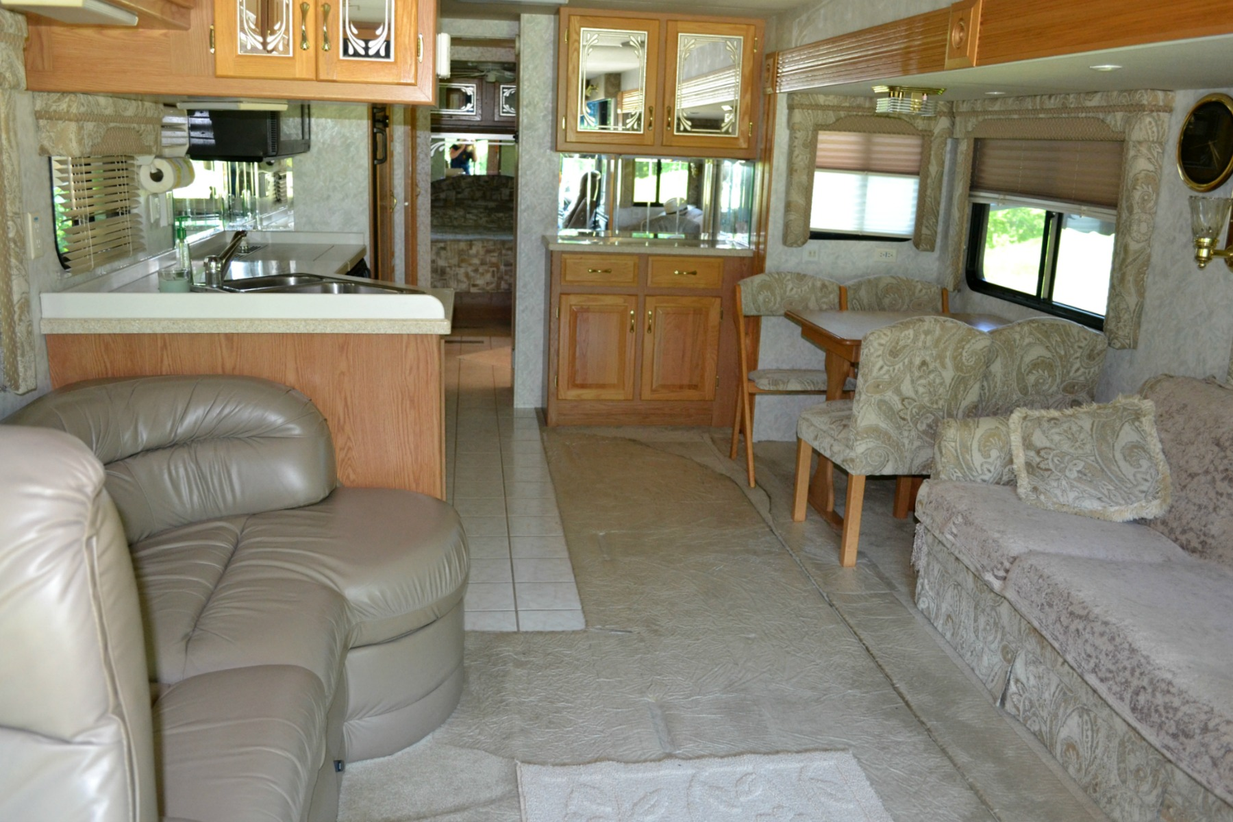 rv travel, camping, inside rv