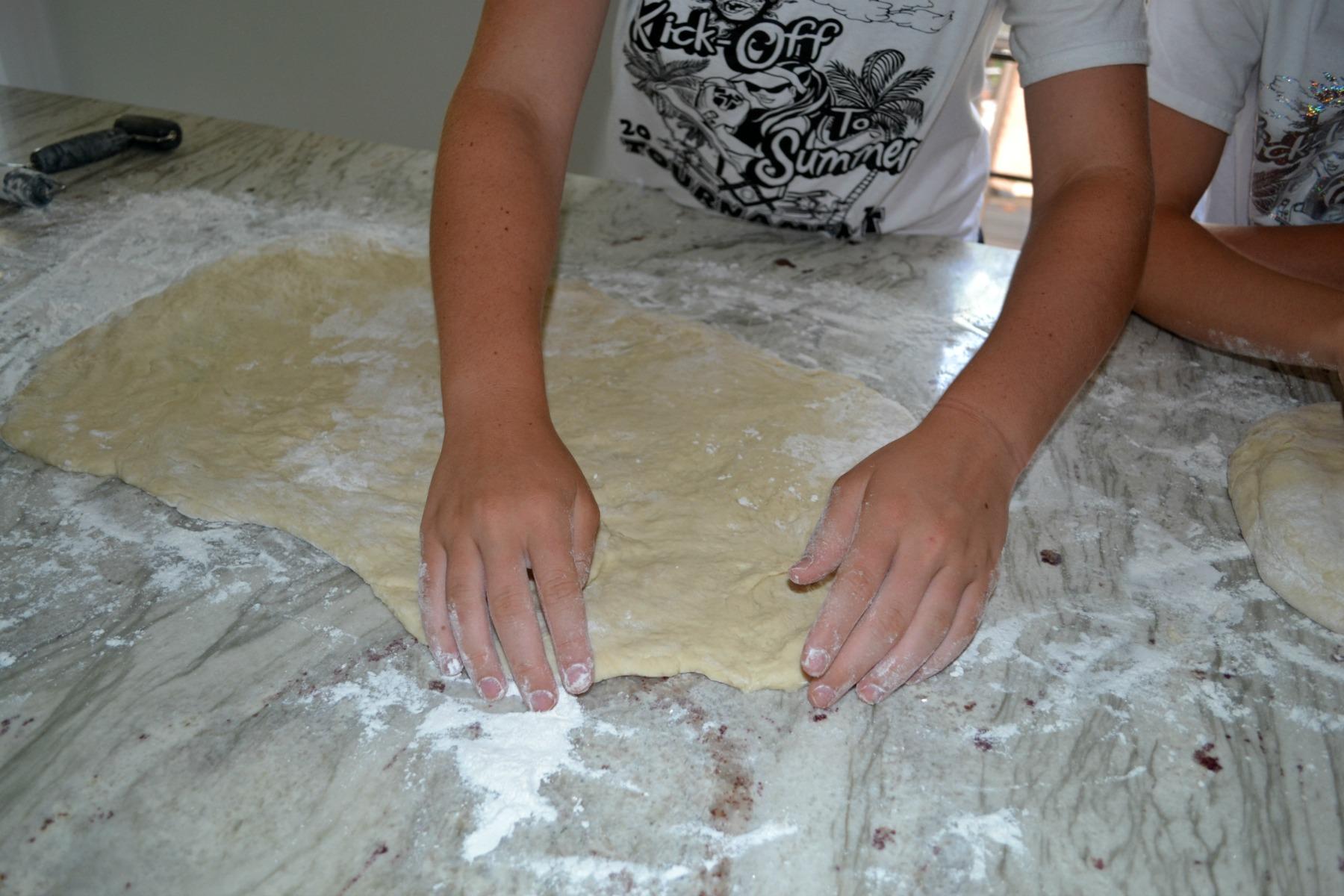 homemade cinnamon rolls,
