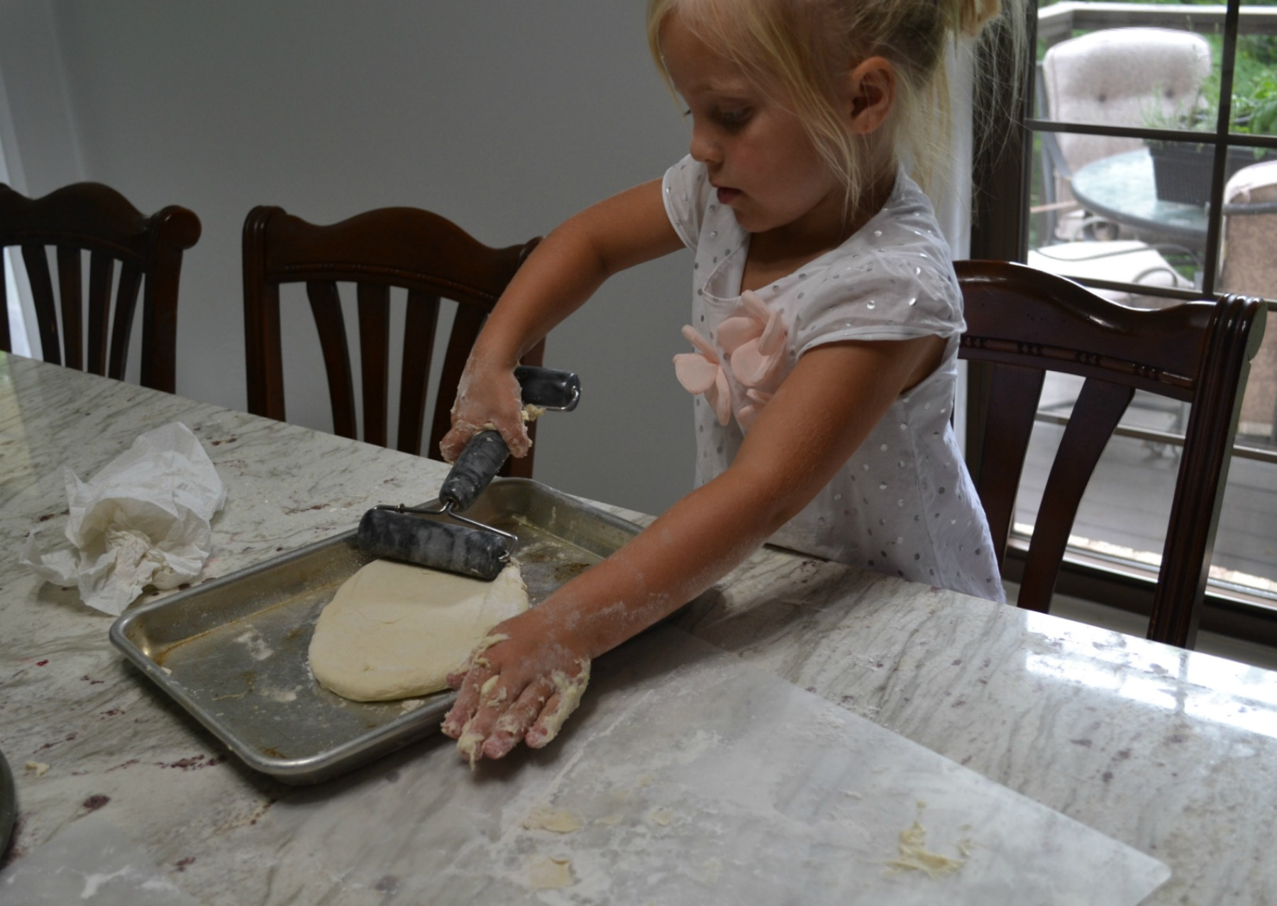pizza, kids cooking
