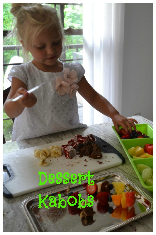 dessert kaboba, kids cooking