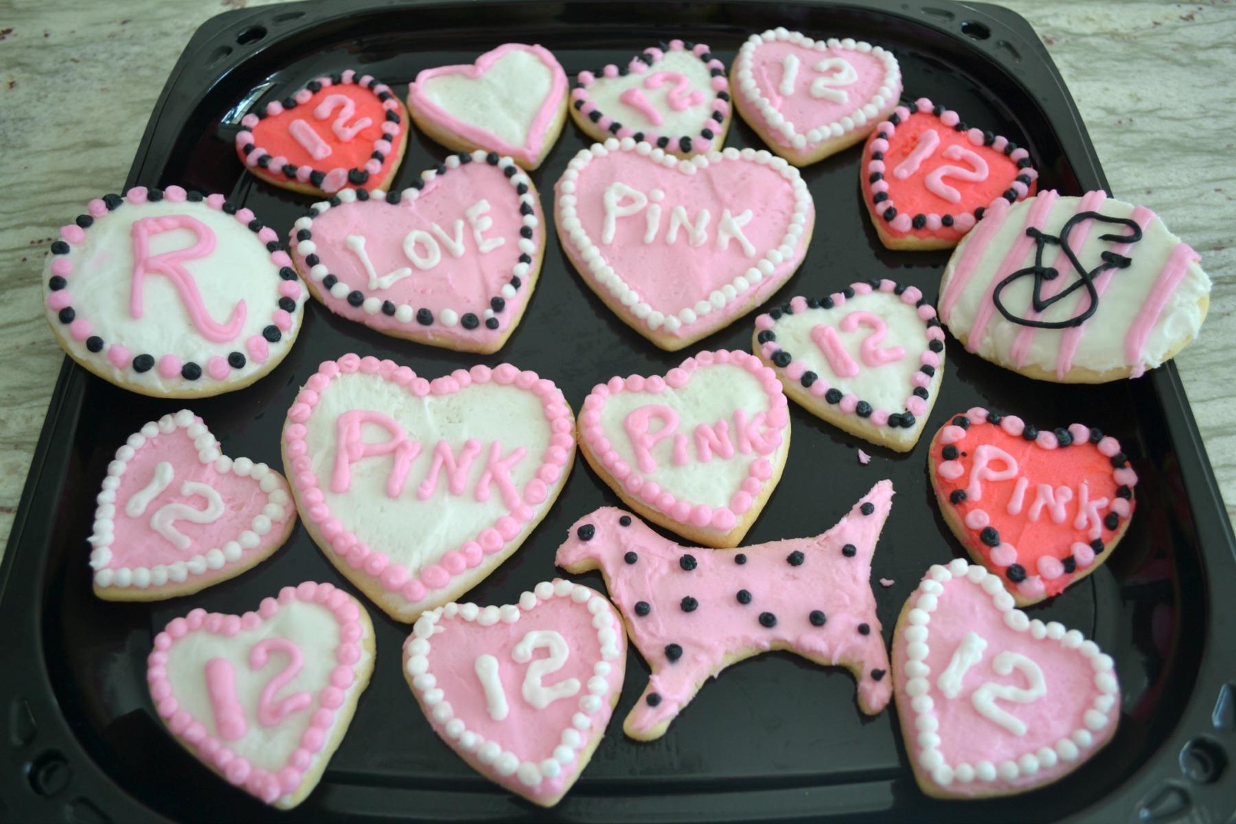 sugar cookies, victoria secret, girls party