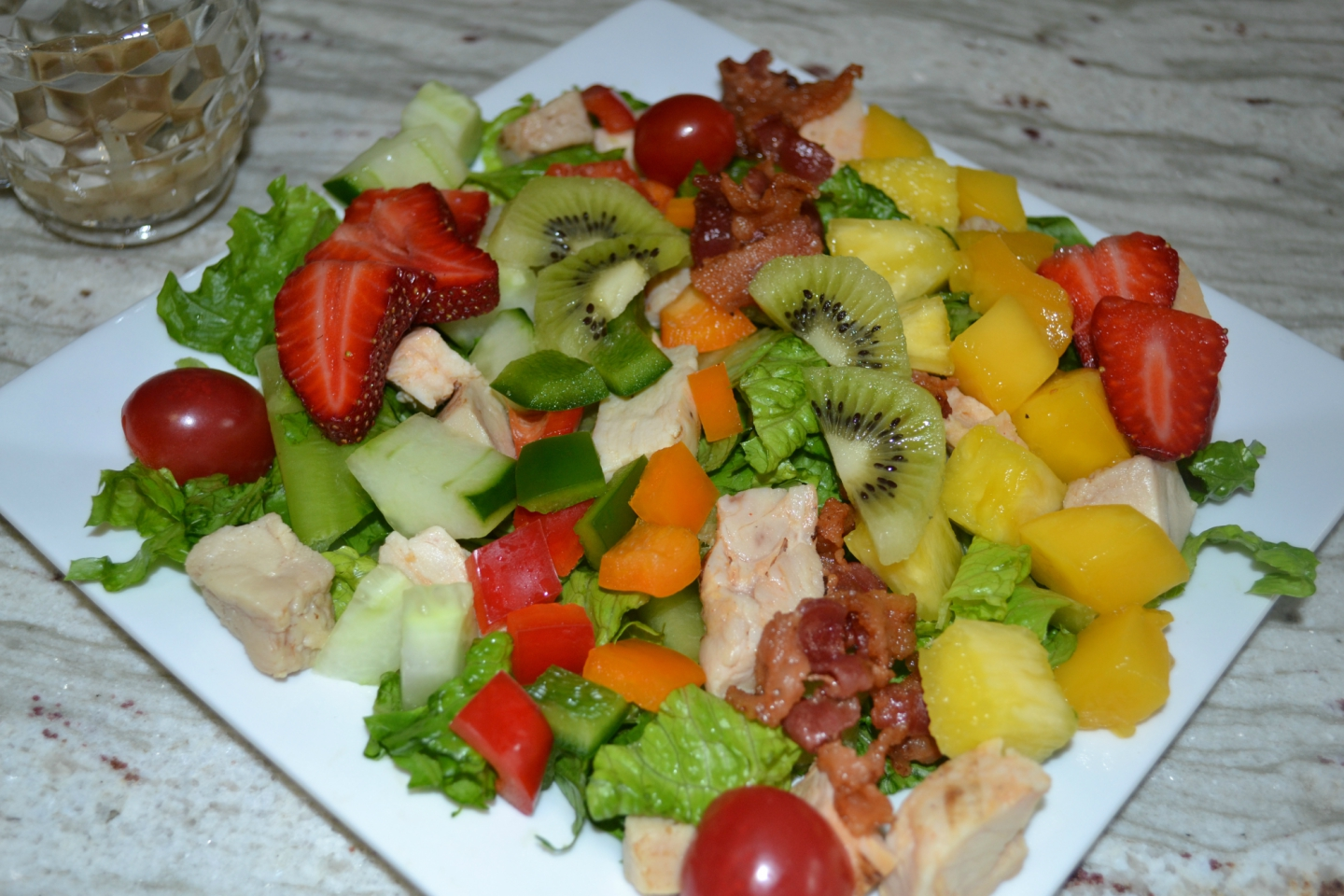 Caribbean Salads Ready To Go: CARIBBEAN CHICKEN COBB SALAD