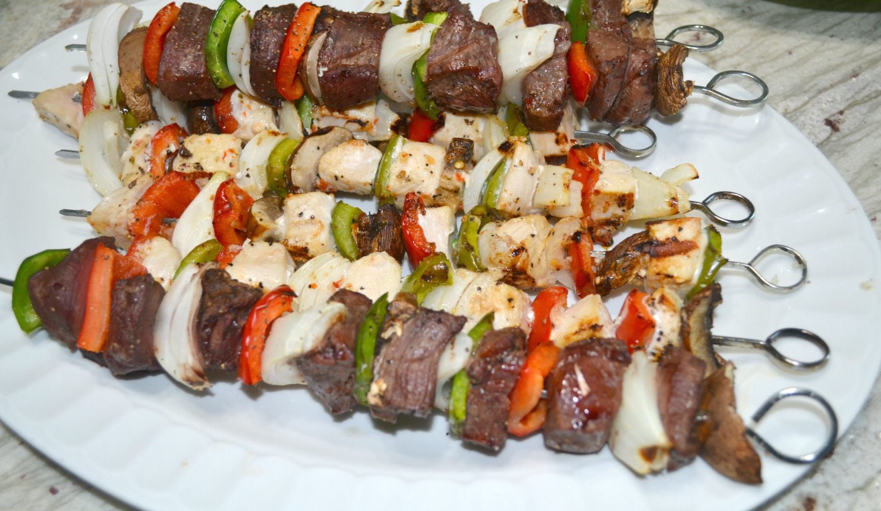 cook out foods, kid friendly foods, picnics, kabobs
