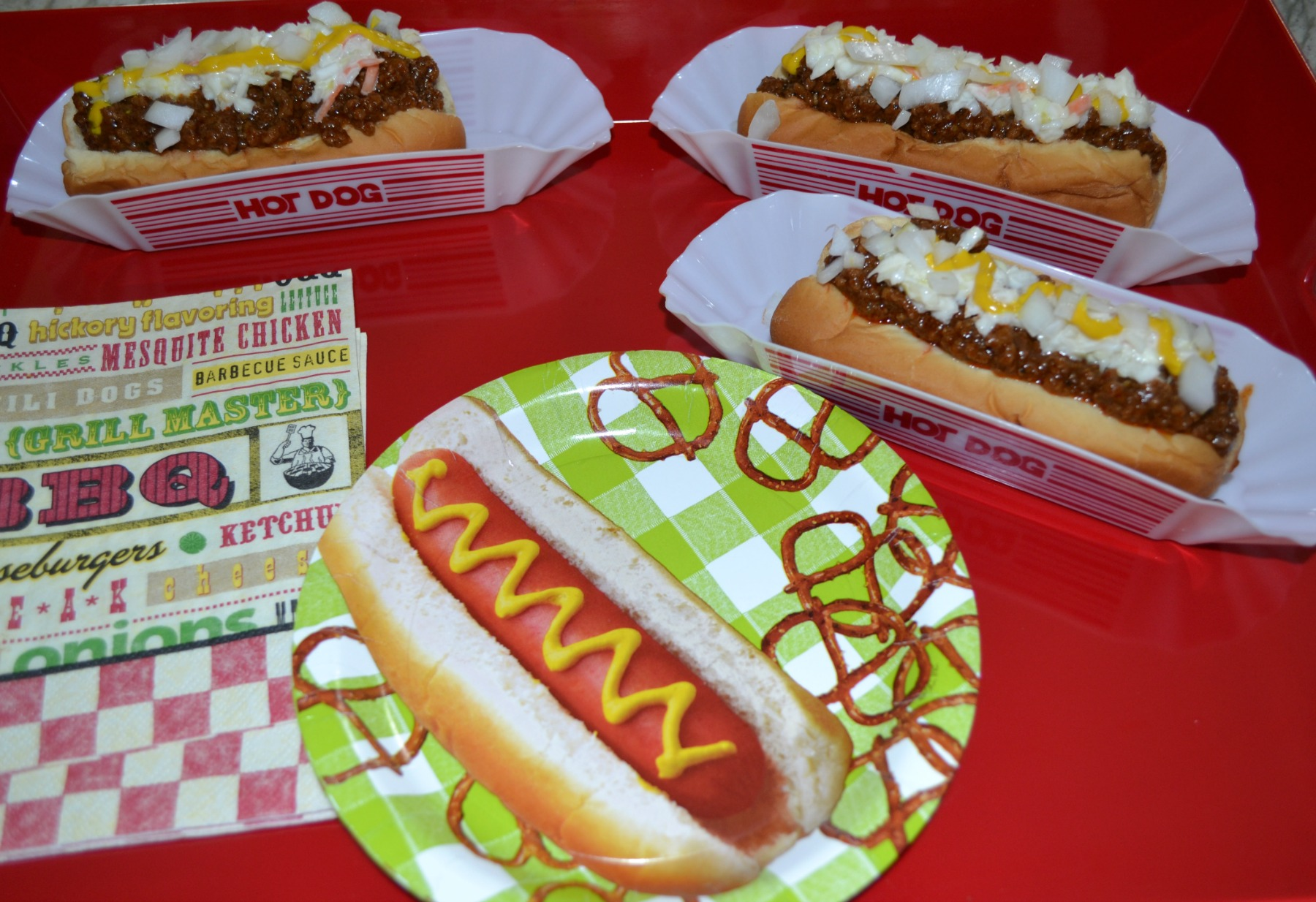 national hot dog day, hot dog sauce