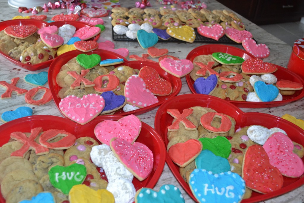 national sugar cookie day, valentines day