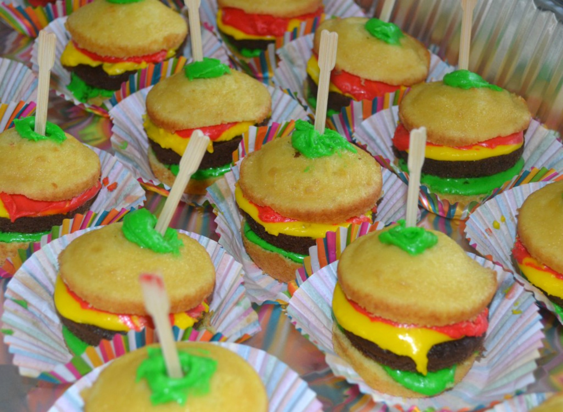 kid friendly food, cupcakes, cook-outs