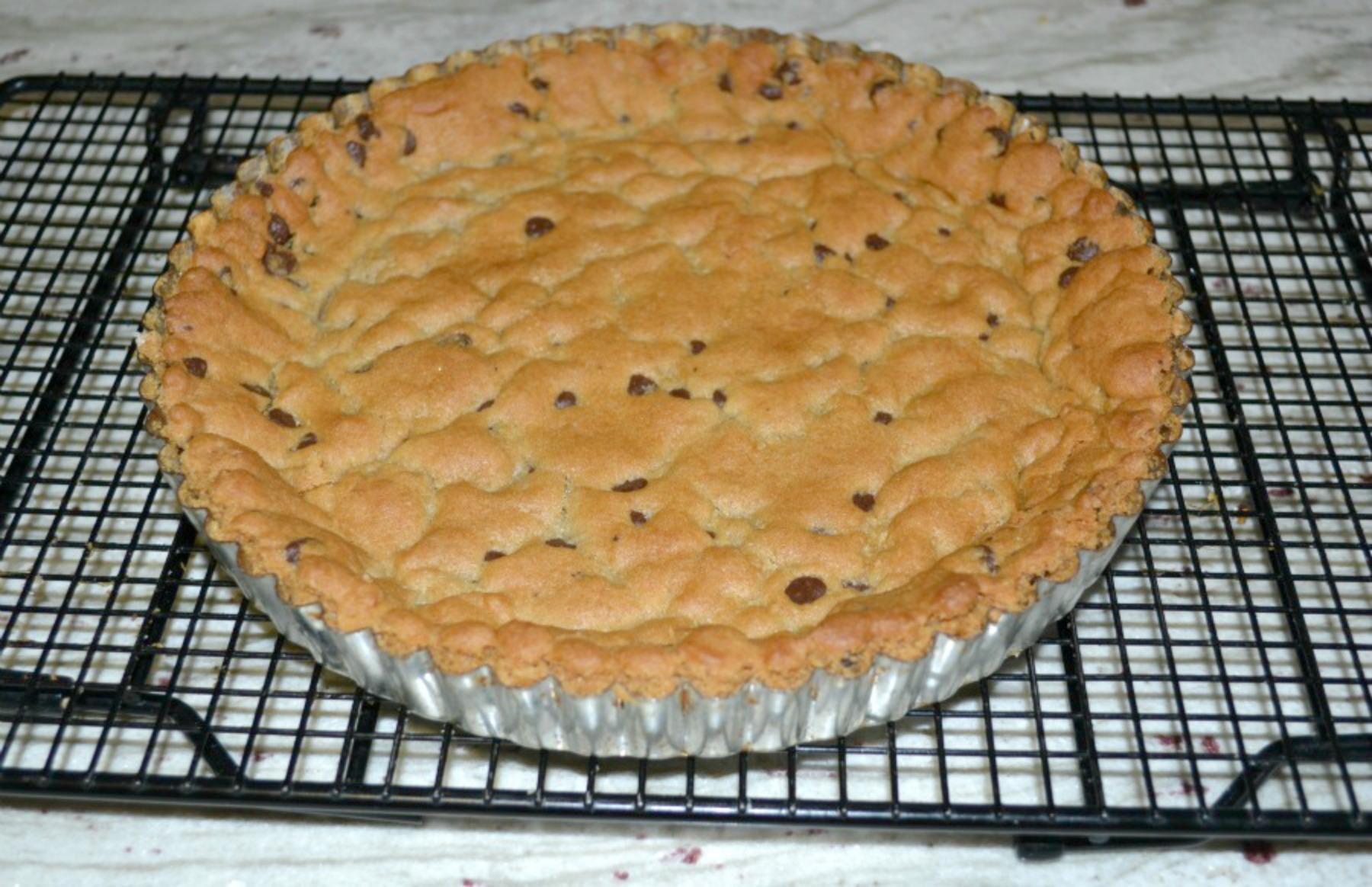cookie dough crust, tart making, kids cooking