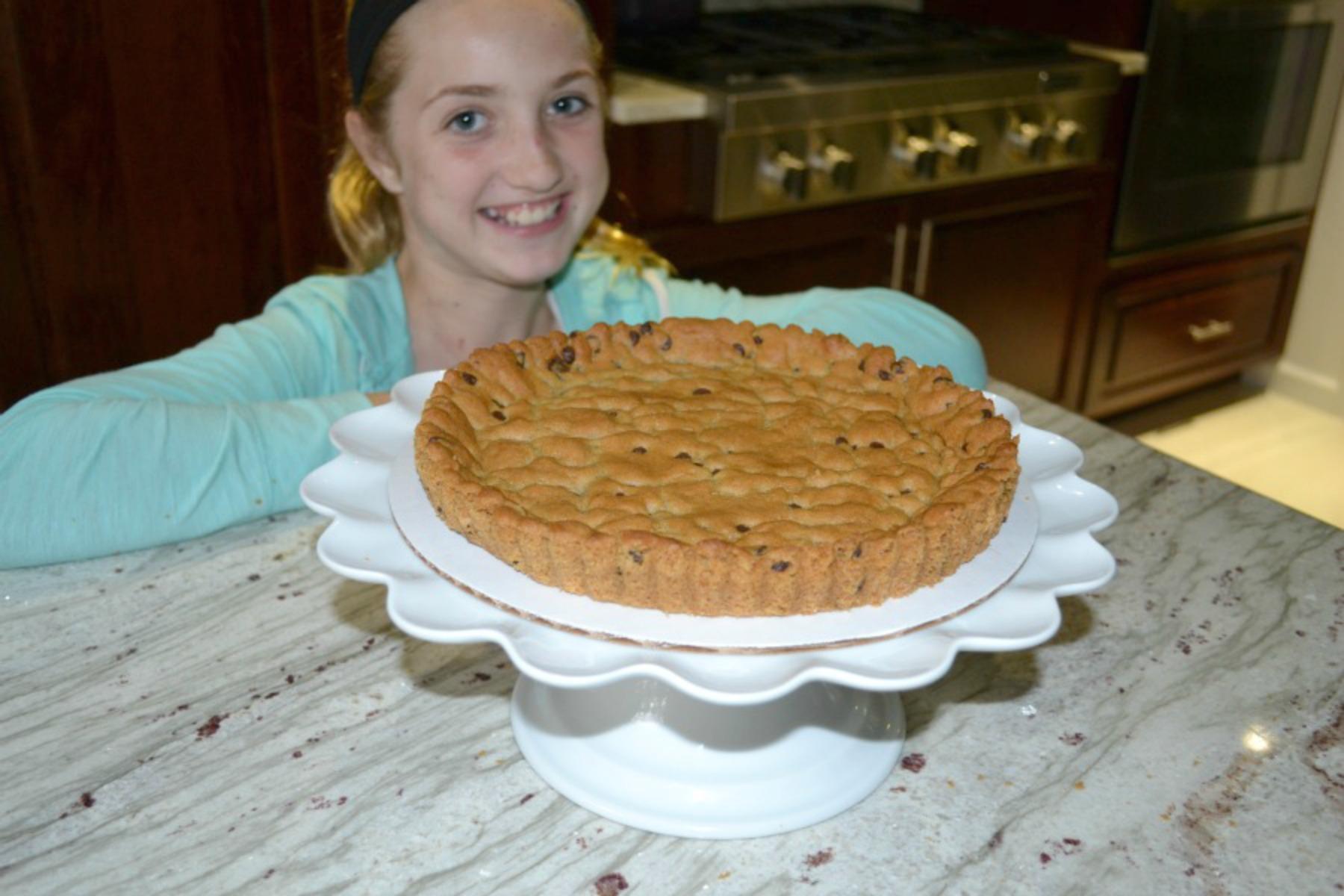 kids cooking, tart making, strawberries, mascarpone cheese, cookie dough, pillsbury