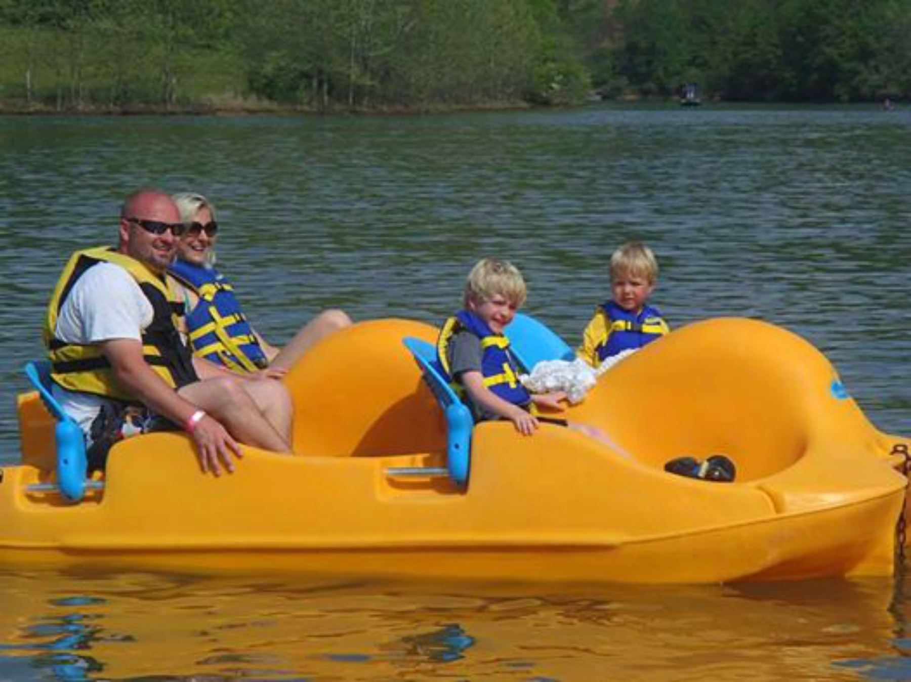stonewall resort, paddleboats, summer fun