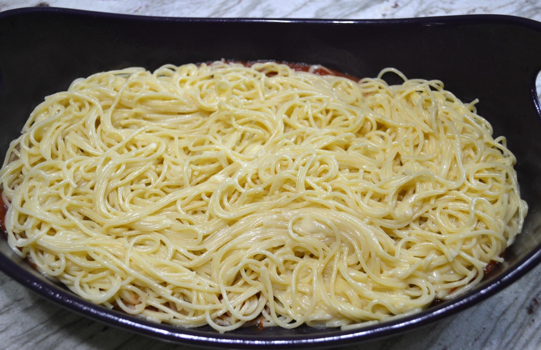 spaghetti, pasta, veggies, cheese, italian, dinner