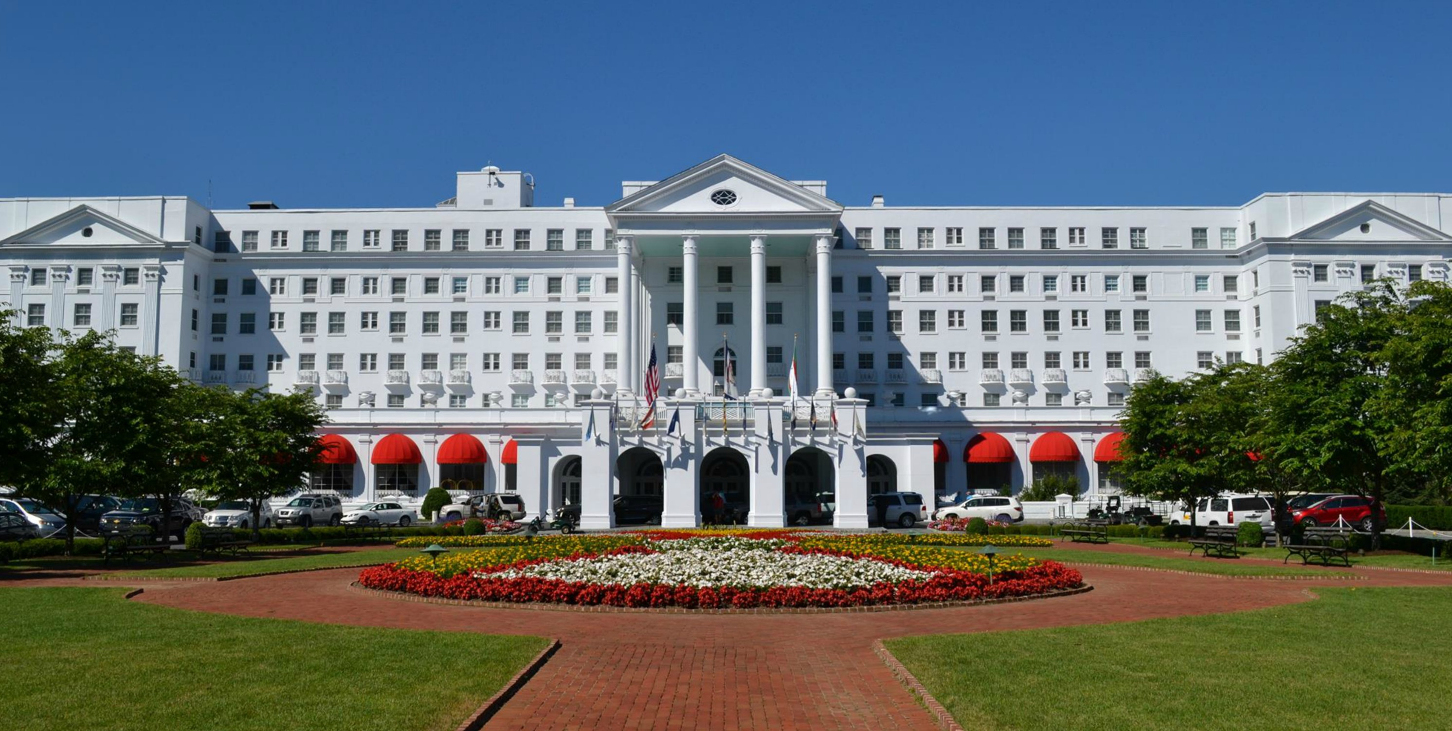 greenbrier resort, anniversary trip