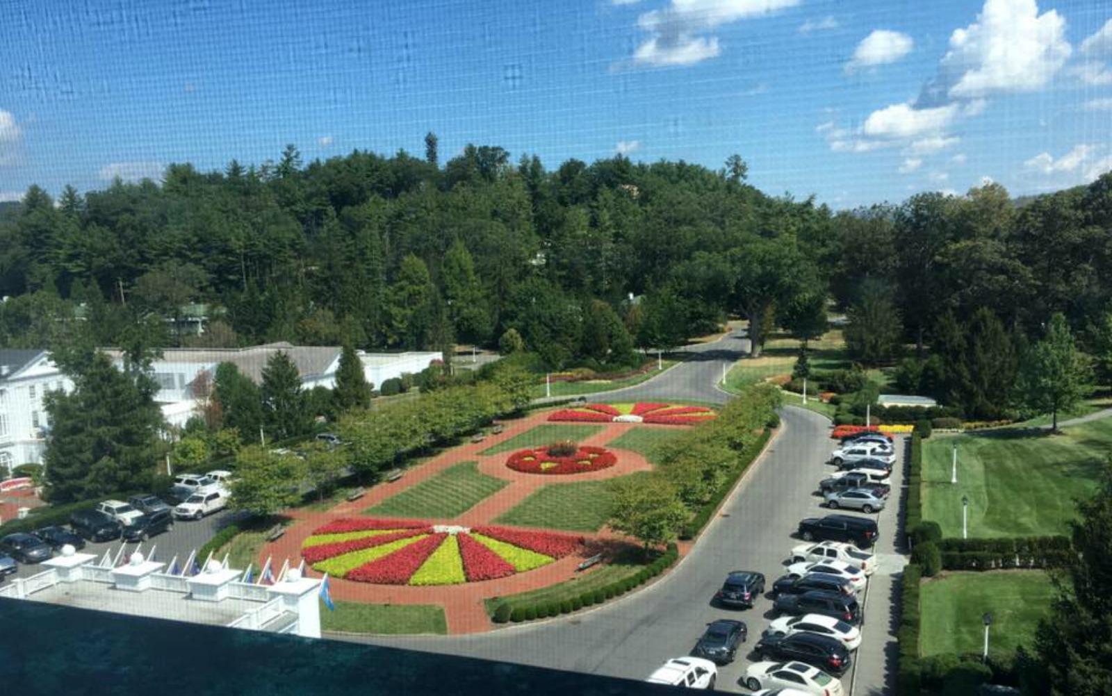 window view, greenbrier resort