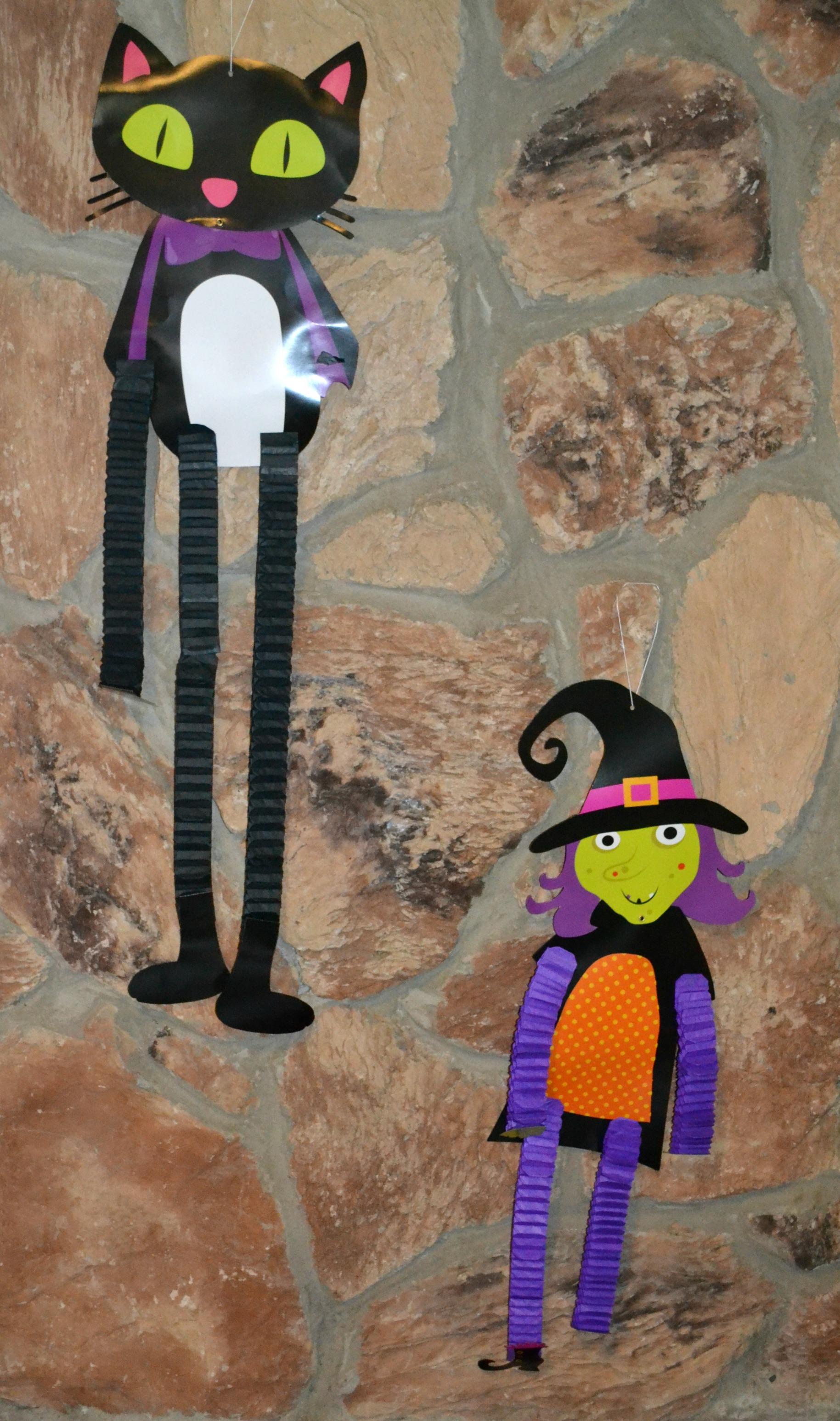 halloween decorating, dollar store,