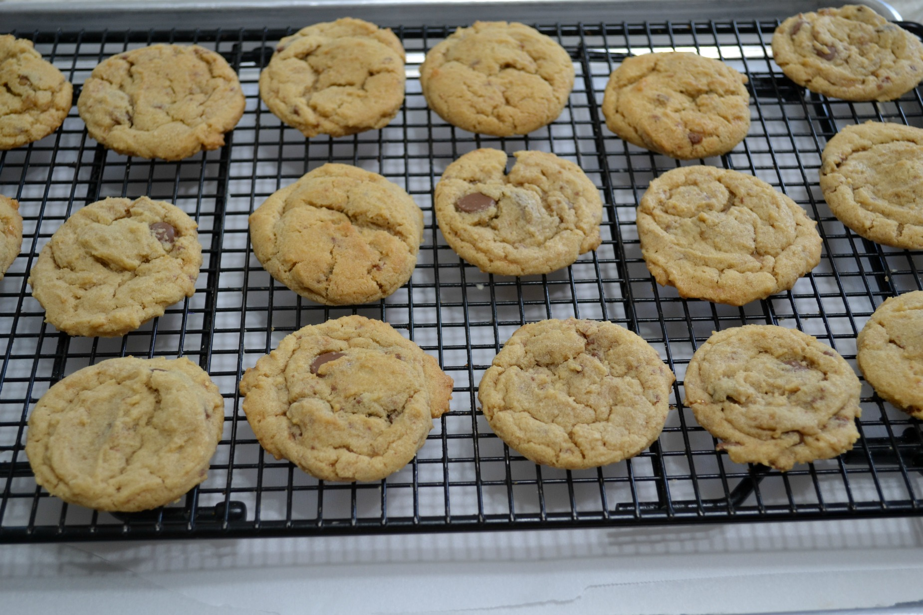 peant butter, toffee bits, choc chips, cookies, fall baking