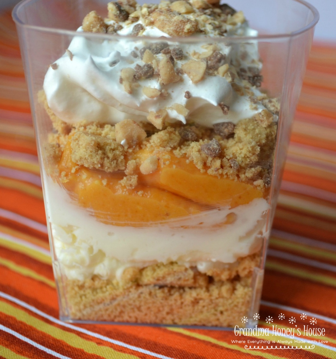 Pumpkin pie parfaits are a quick and easy dessert with all of the flavor of pie but in a cup. with