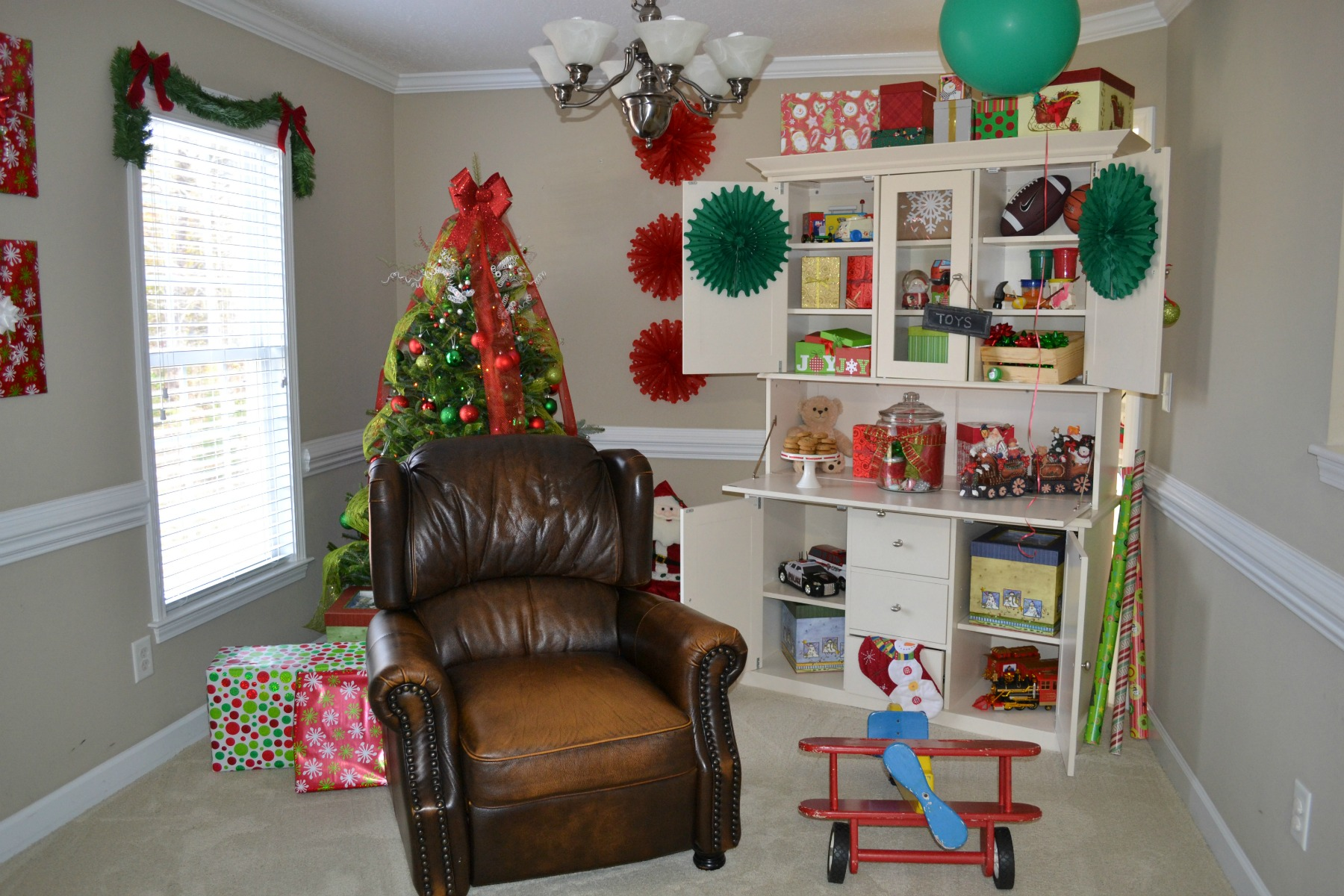 Christmas, Santa Claus, party