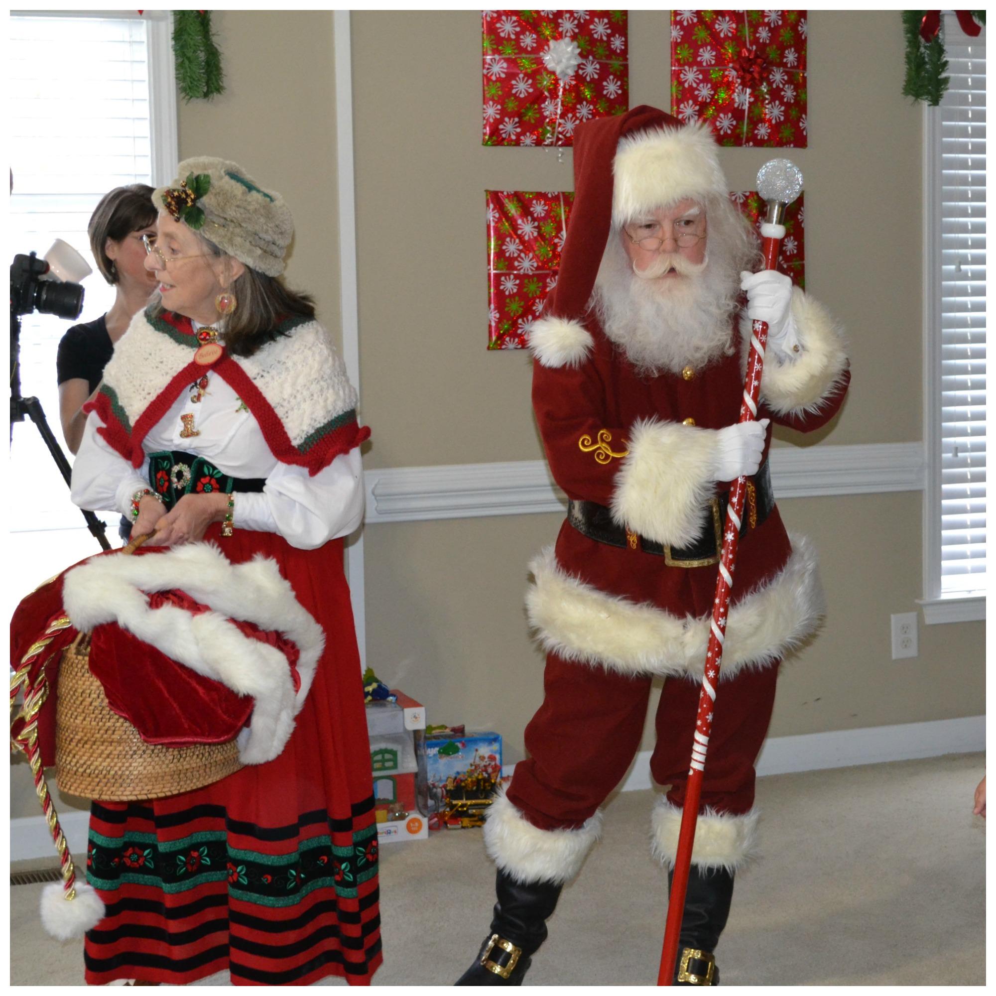 Christmas, parties, Santa Claus