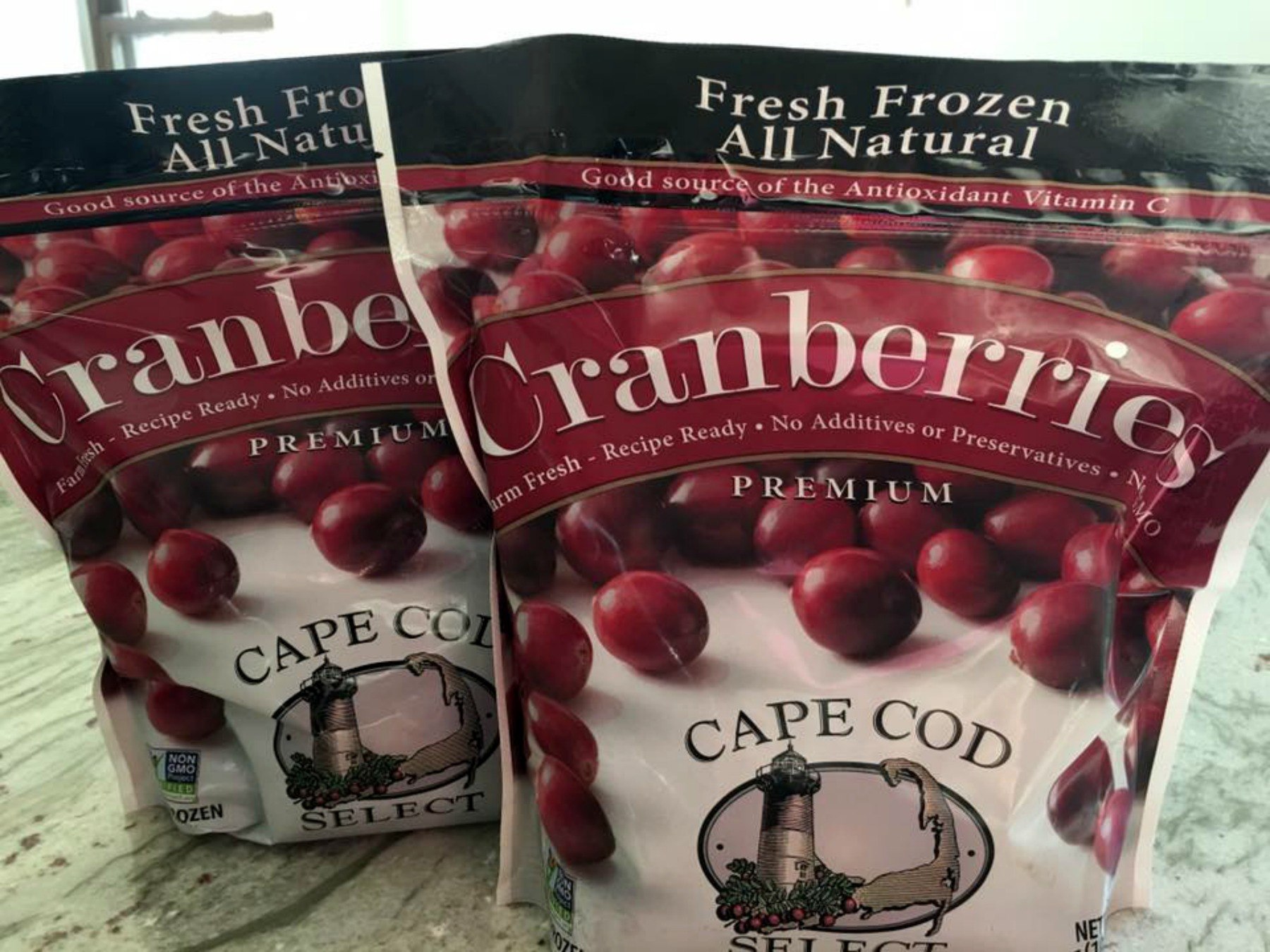 The best frozen cranberries, Cape Cod Select. Holiday Blogger Recipe Challenge