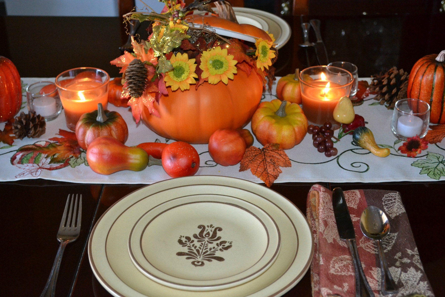 Thanksgiving ideas for empty nesters.