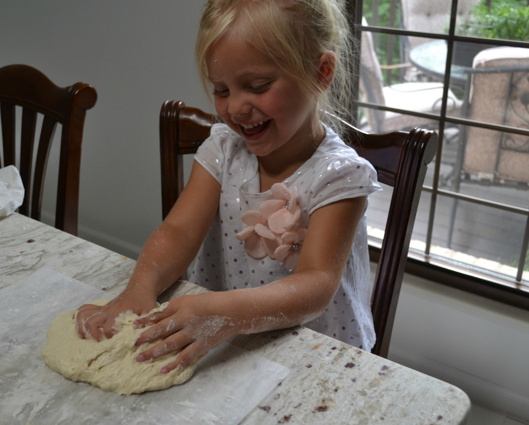 kids cooking class, pizza