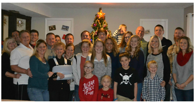 family, Christmas 2016