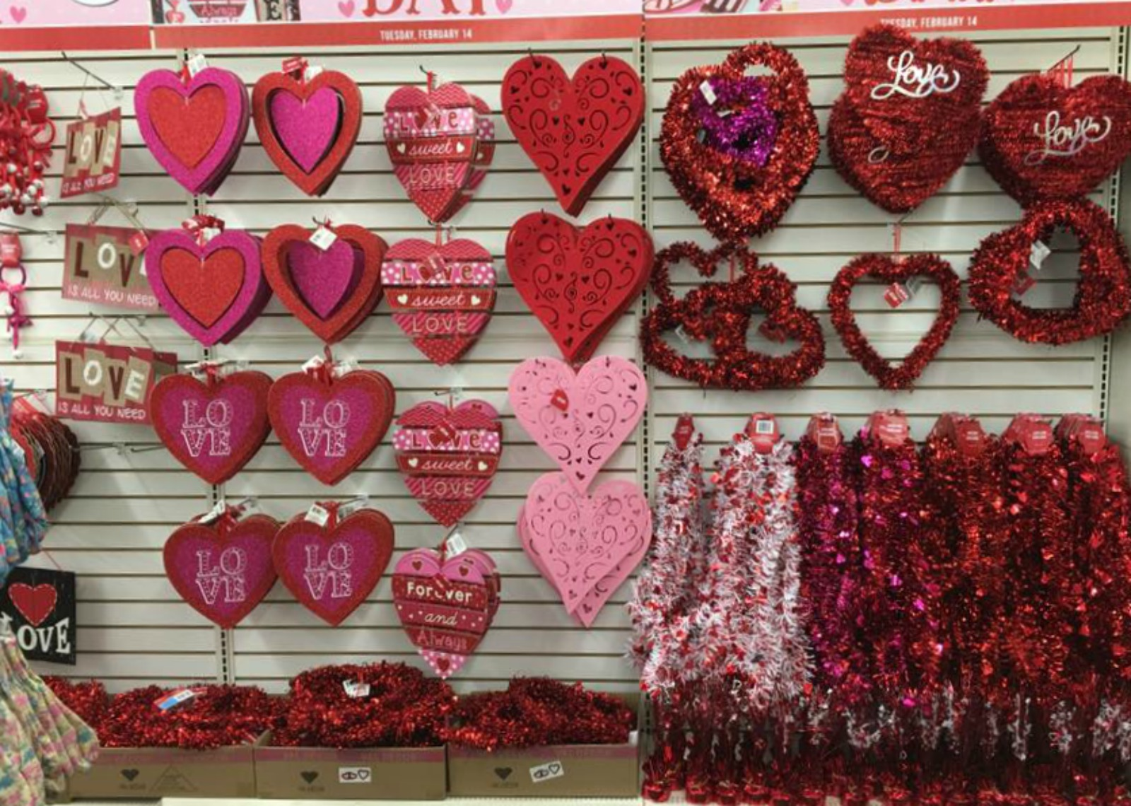 Valentine's day tips for inexpensive decorating and sweet treats.