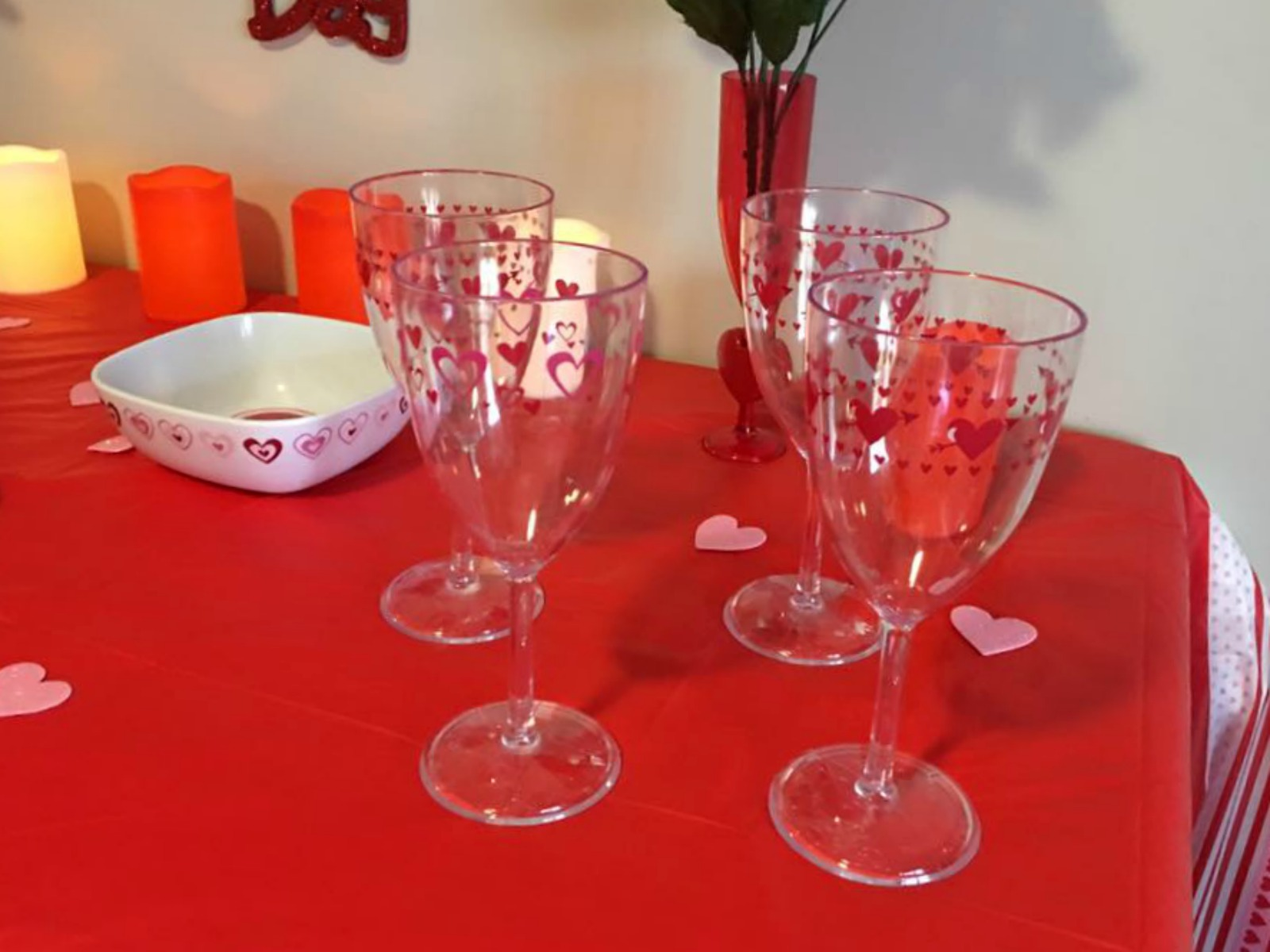 Valentine's day tips for inexpensive decorating and sweet treats