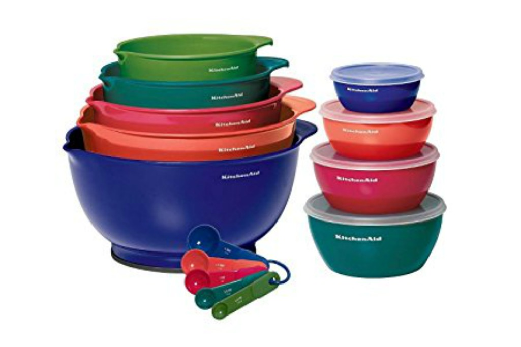 A cute and colorful collection of kitchen items for this spring giveaway.