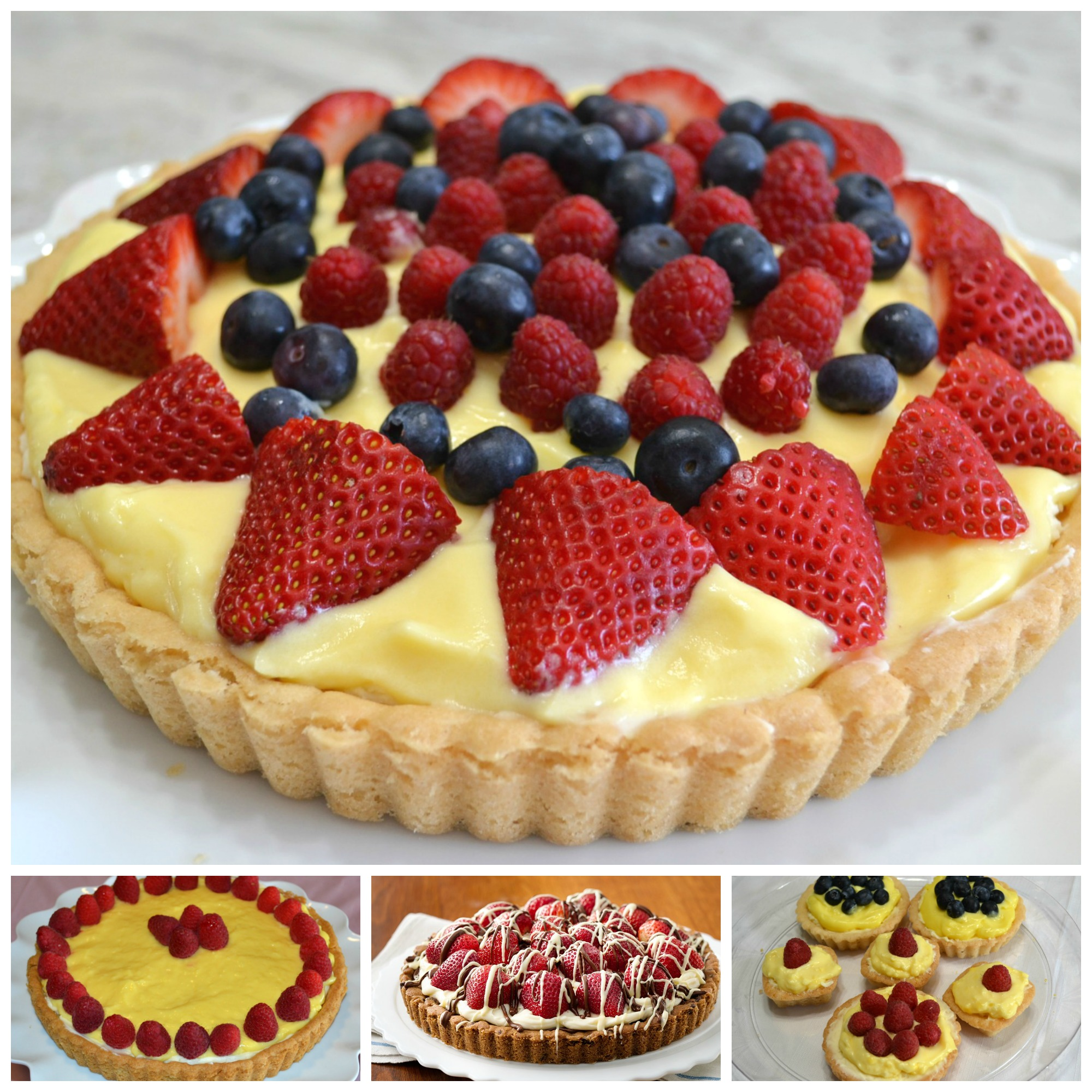 Easy but Elegant Tarts and Tartlets.