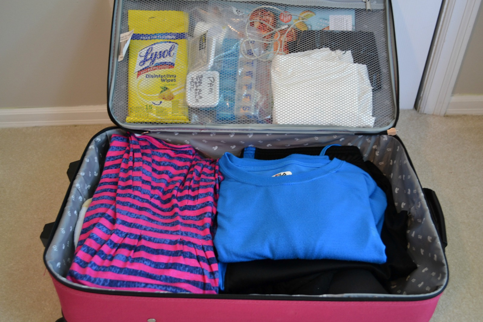 An organized system on packing for a road trip that will make your vacation go so much smoother.